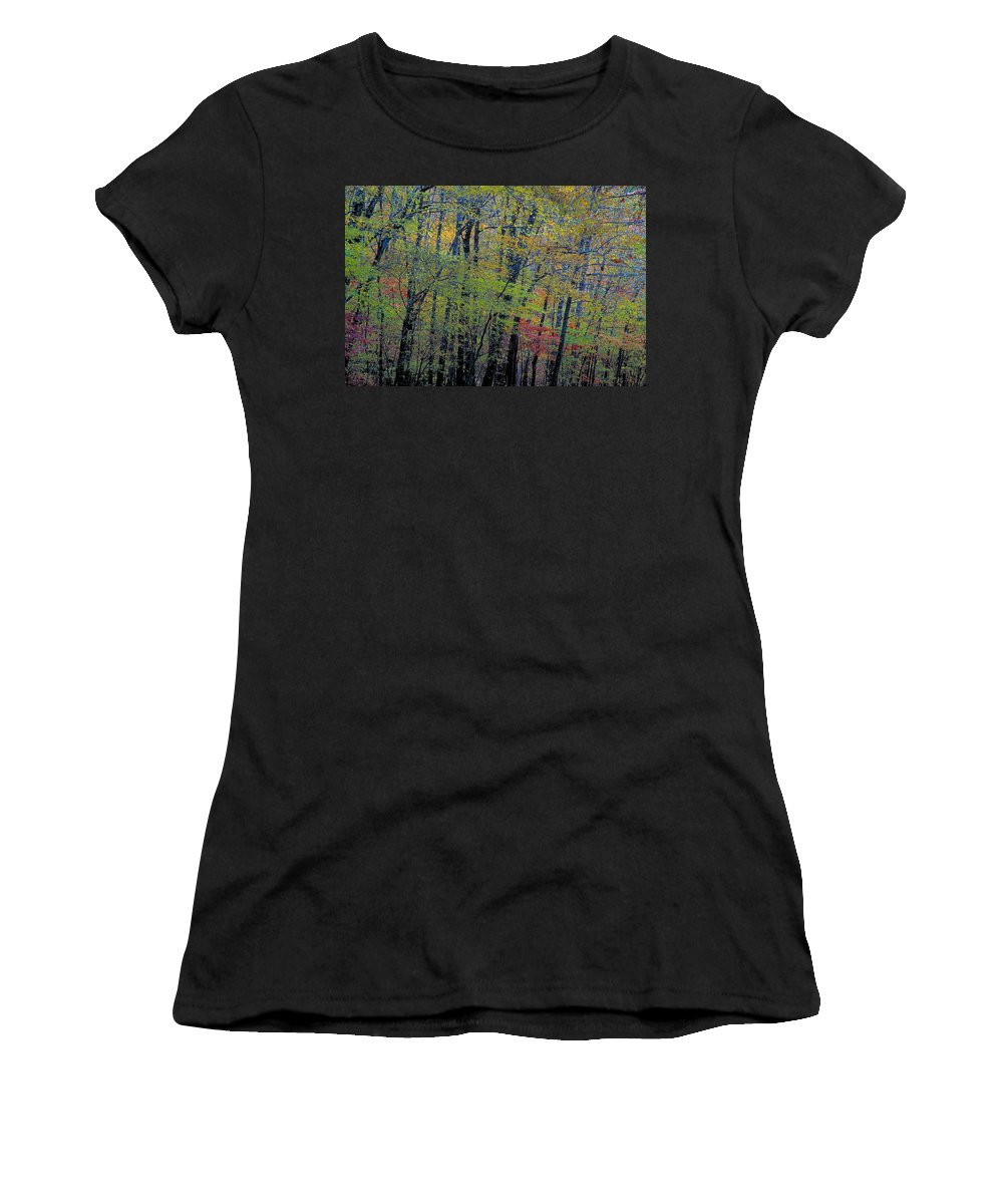 Arkansas Women's T-Shirt featuring the photograph Spring Riot by Jim Murphy