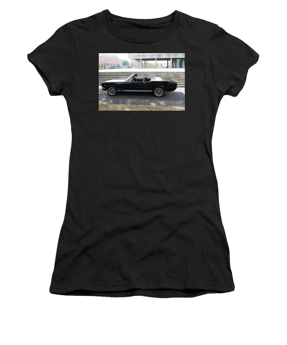 Ford Women's T-Shirt (Athletic Fit) featuring the photograph Stang by Joseph Marquis