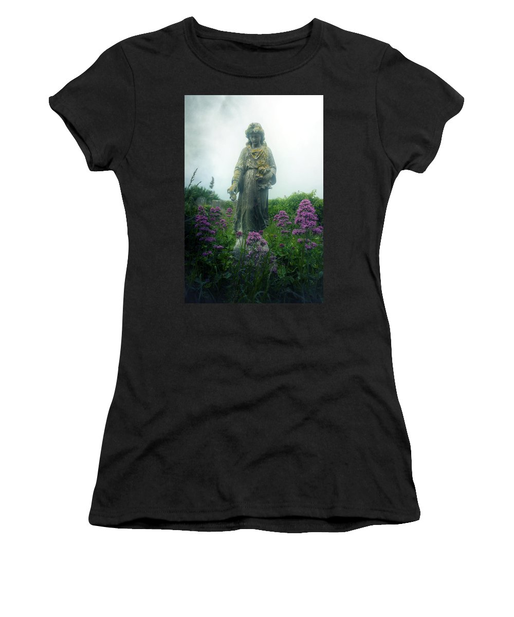 Girl Women's T-Shirt featuring the photograph Statue by Joana Kruse
