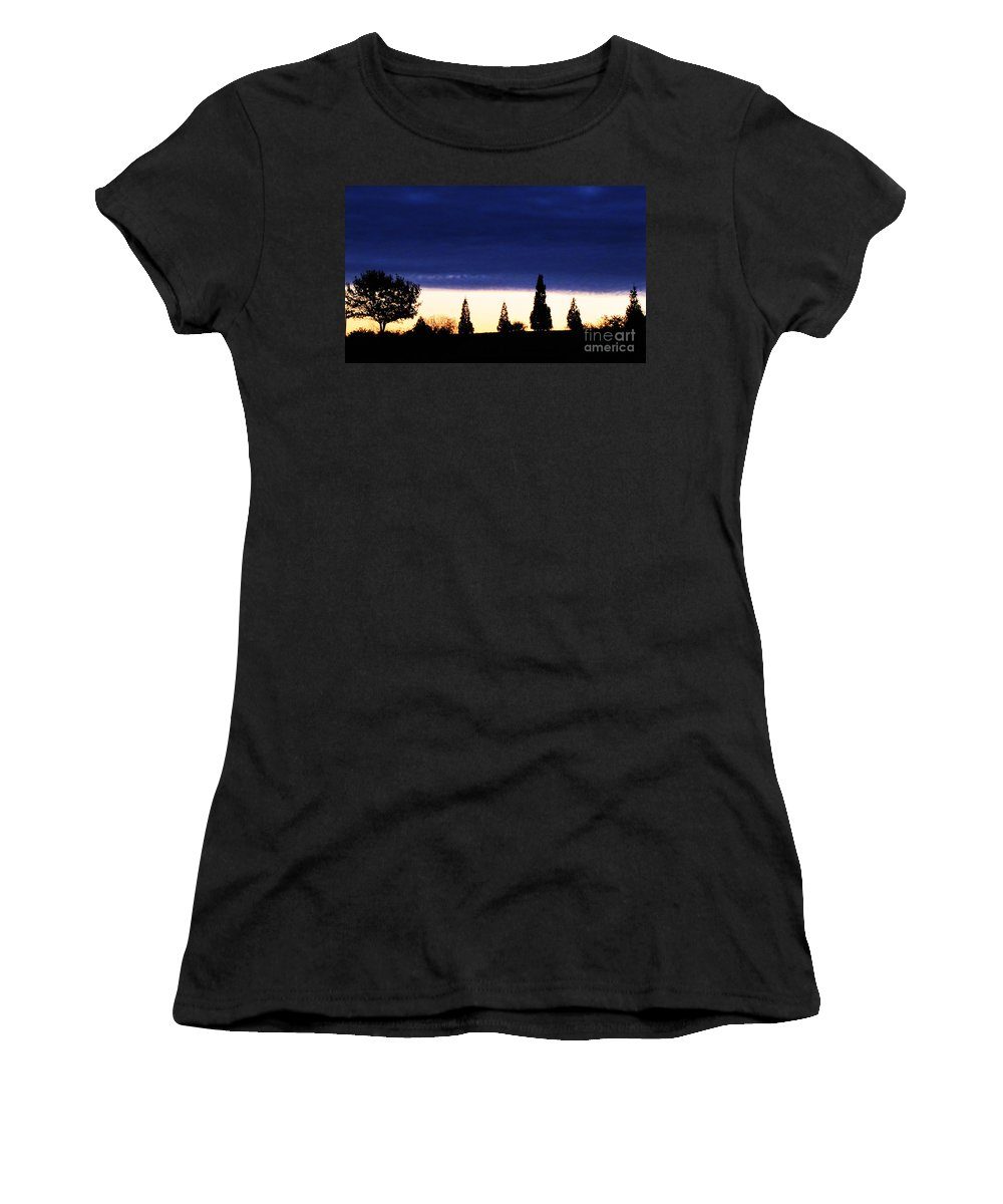 Stifled Women's T-Shirt (Athletic Fit) featuring the photograph Stifled by Ron Tackett