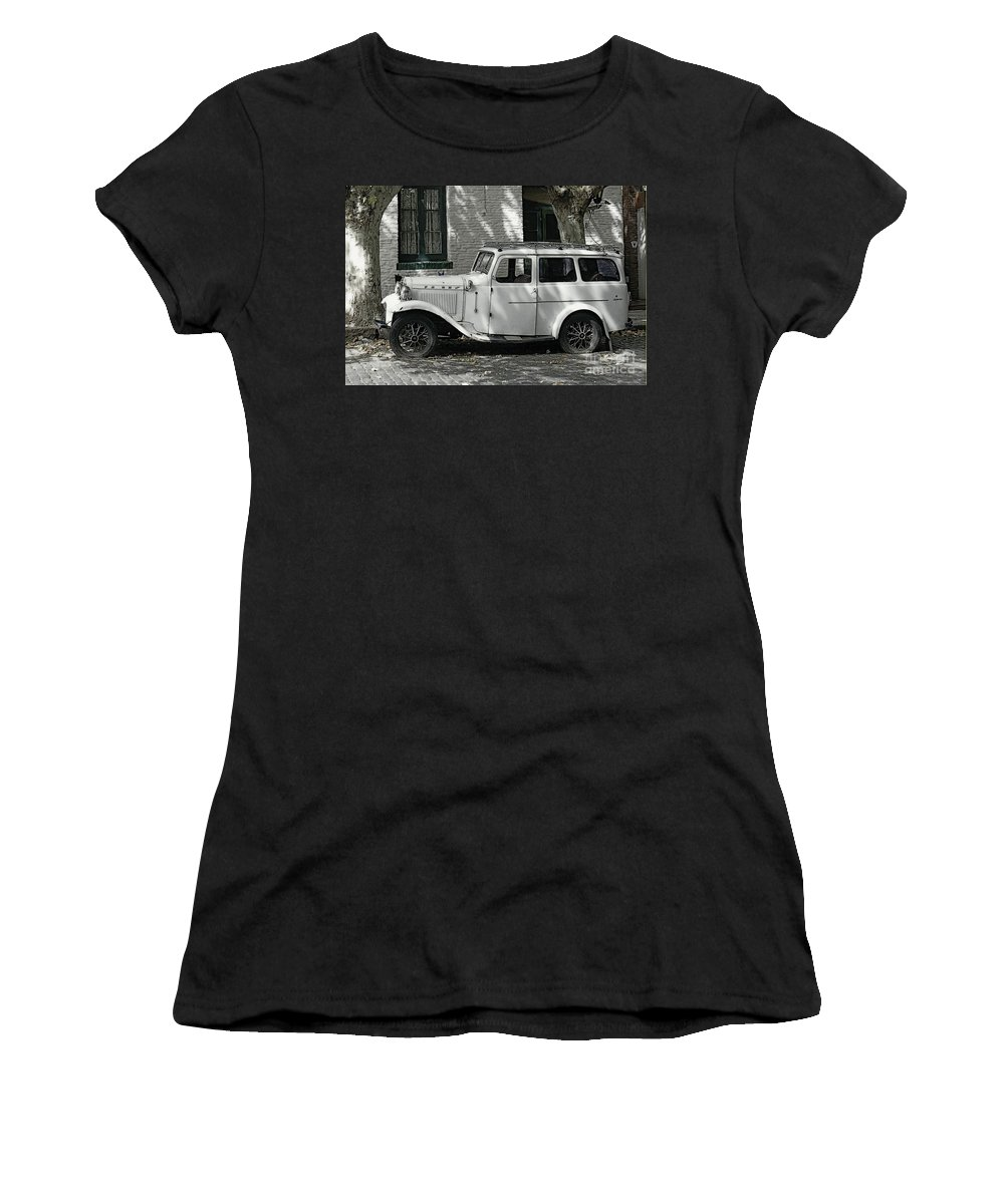 Women's T-Shirt (Athletic Fit) featuring the photograph Still Running Strong by Karla Weber