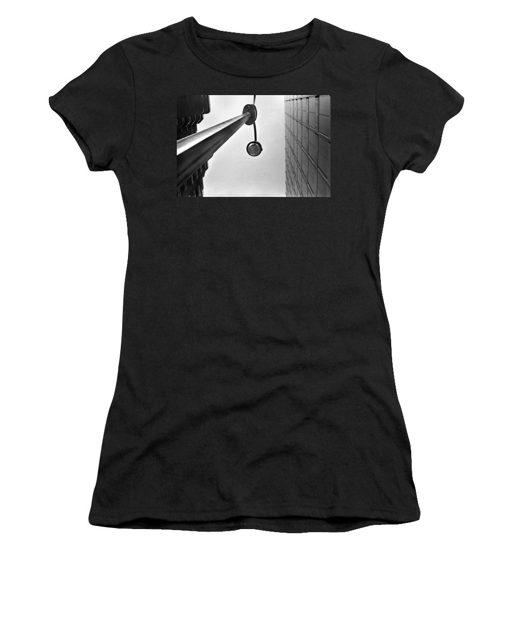 New York Women's T-Shirt (Athletic Fit) featuring the photograph Street Light 42nd St by Joseph Mari