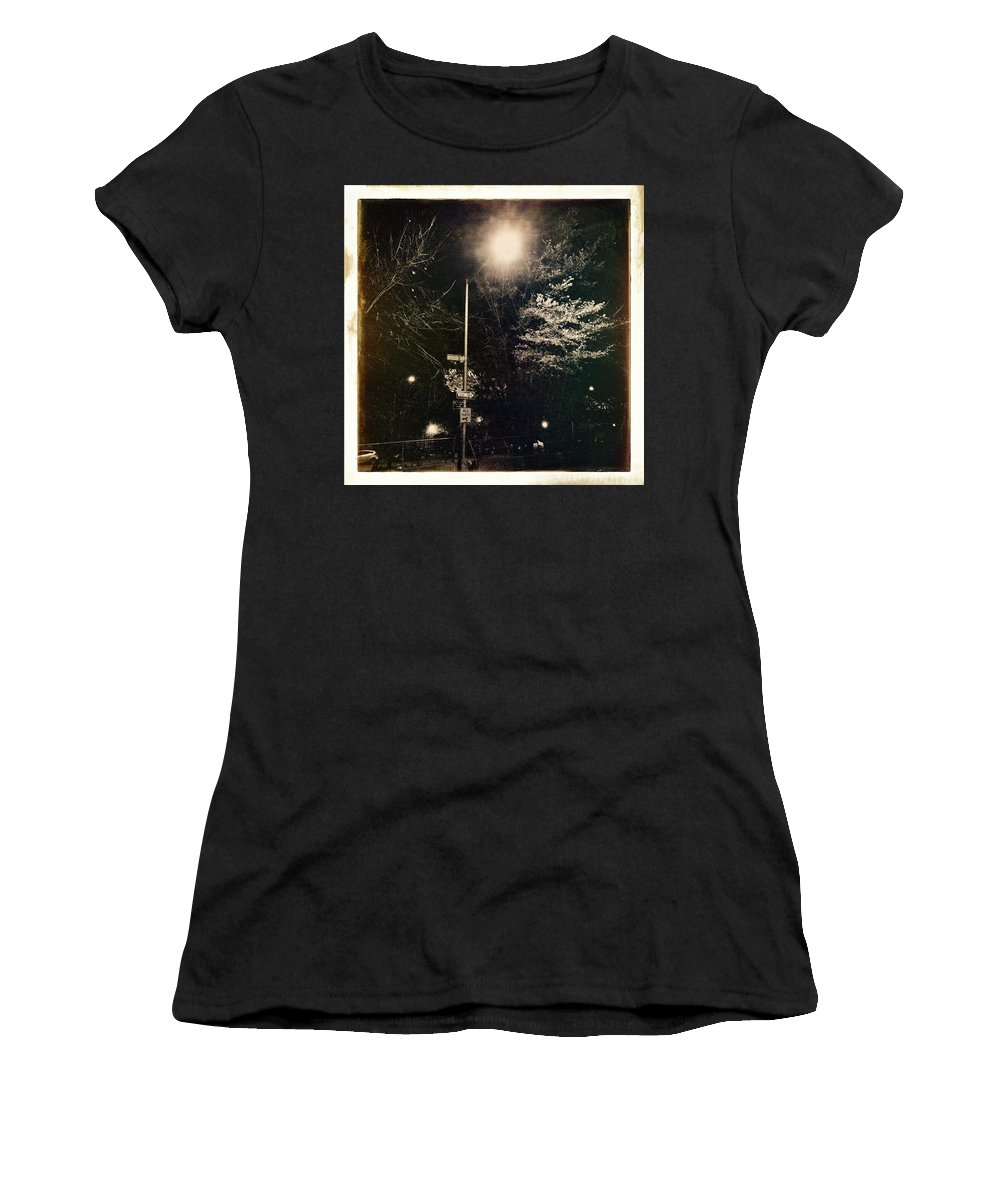 Antique Women's T-Shirt featuring the photograph Street Light by H James Hoff