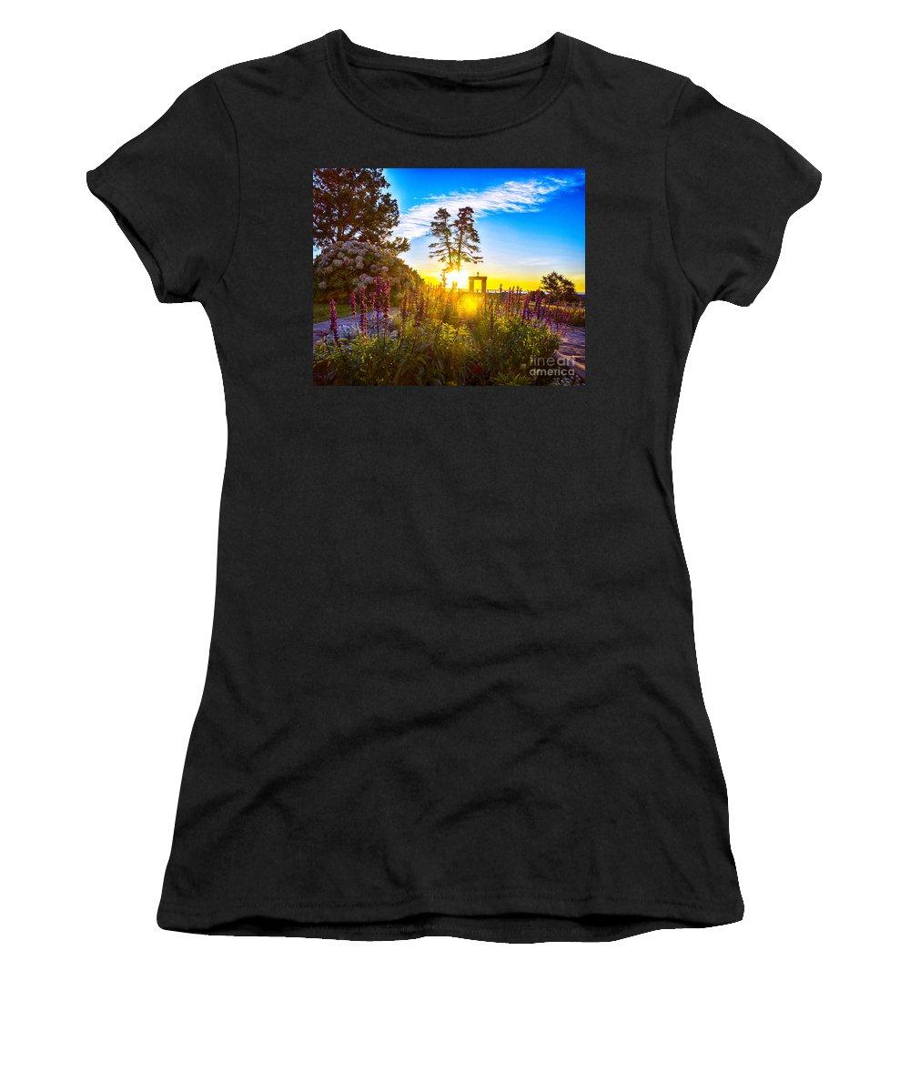 Sun Women's T-Shirt featuring the photograph Sunny Morning by Joe Geraci