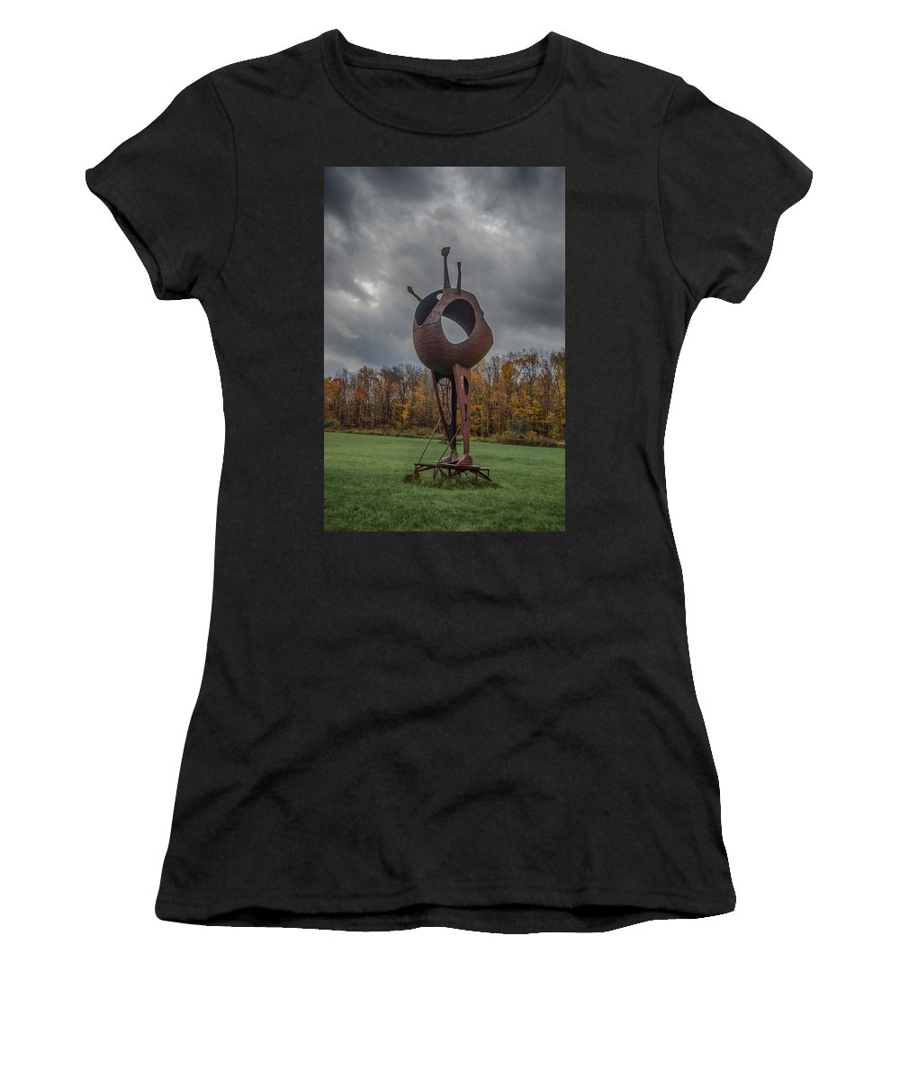 Griffis Park Women's T-Shirt (Athletic Fit) featuring the photograph Take Me To Your Leader by Guy Whiteley