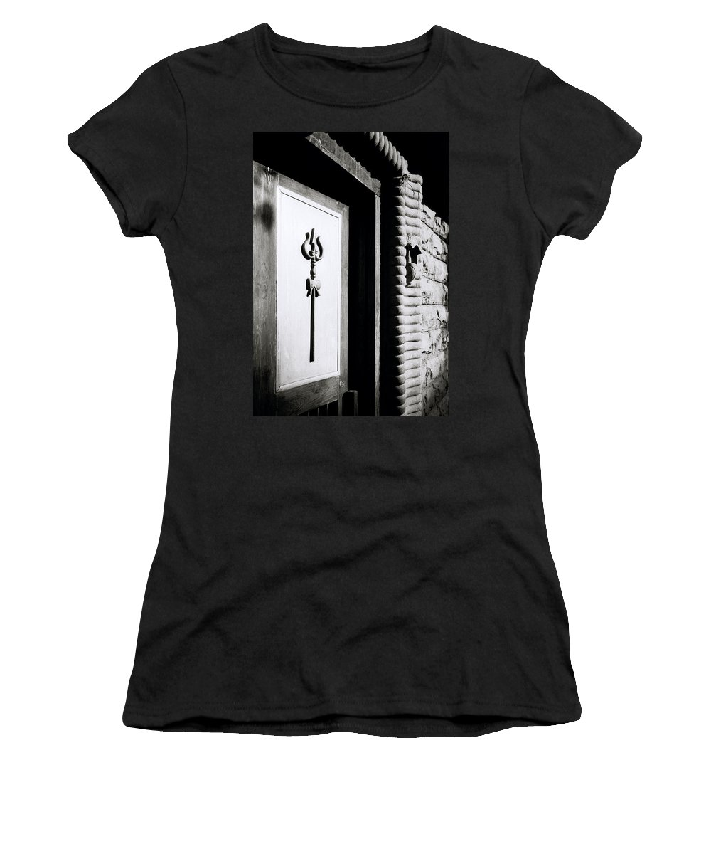 India Women's T-Shirt (Athletic Fit) featuring the photograph The Temple Trident by Shaun Higson