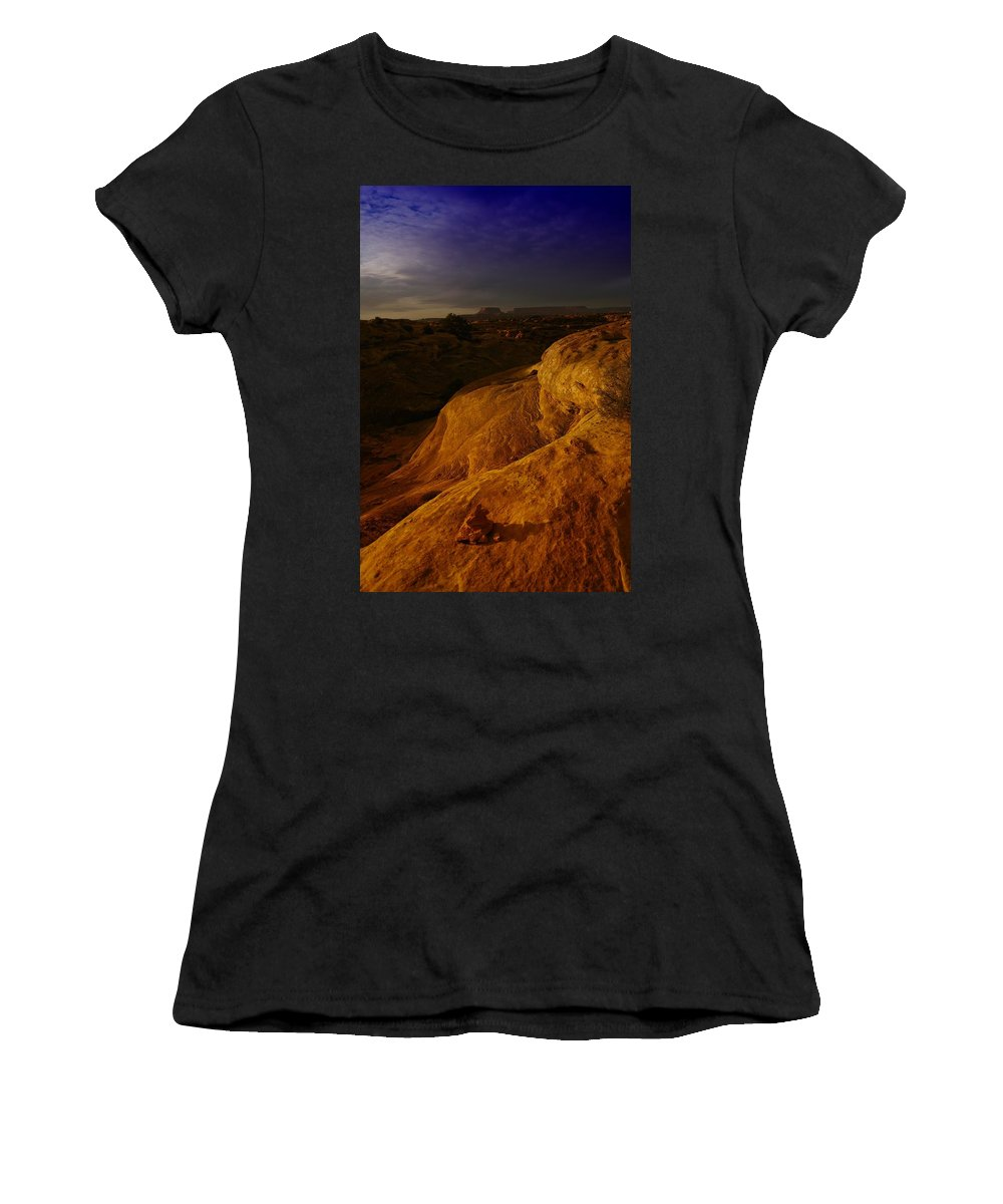 Utah Women's T-Shirt (Athletic Fit) featuring the photograph The Beauty Of Canyonlands by Jeff Swan