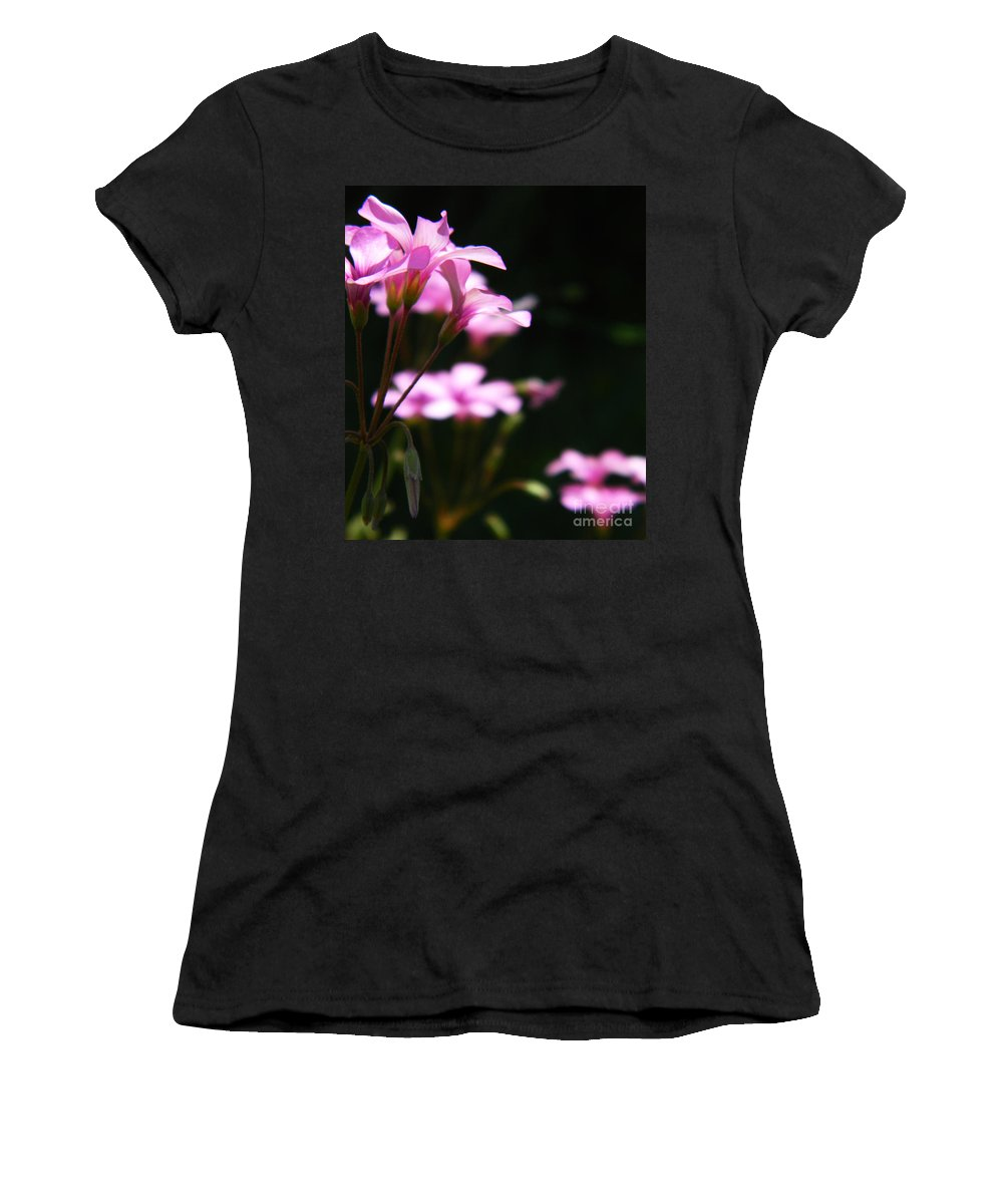 Flower Women's T-Shirt featuring the photograph The Beauty Of Small Things 2 by Andrea Anderegg