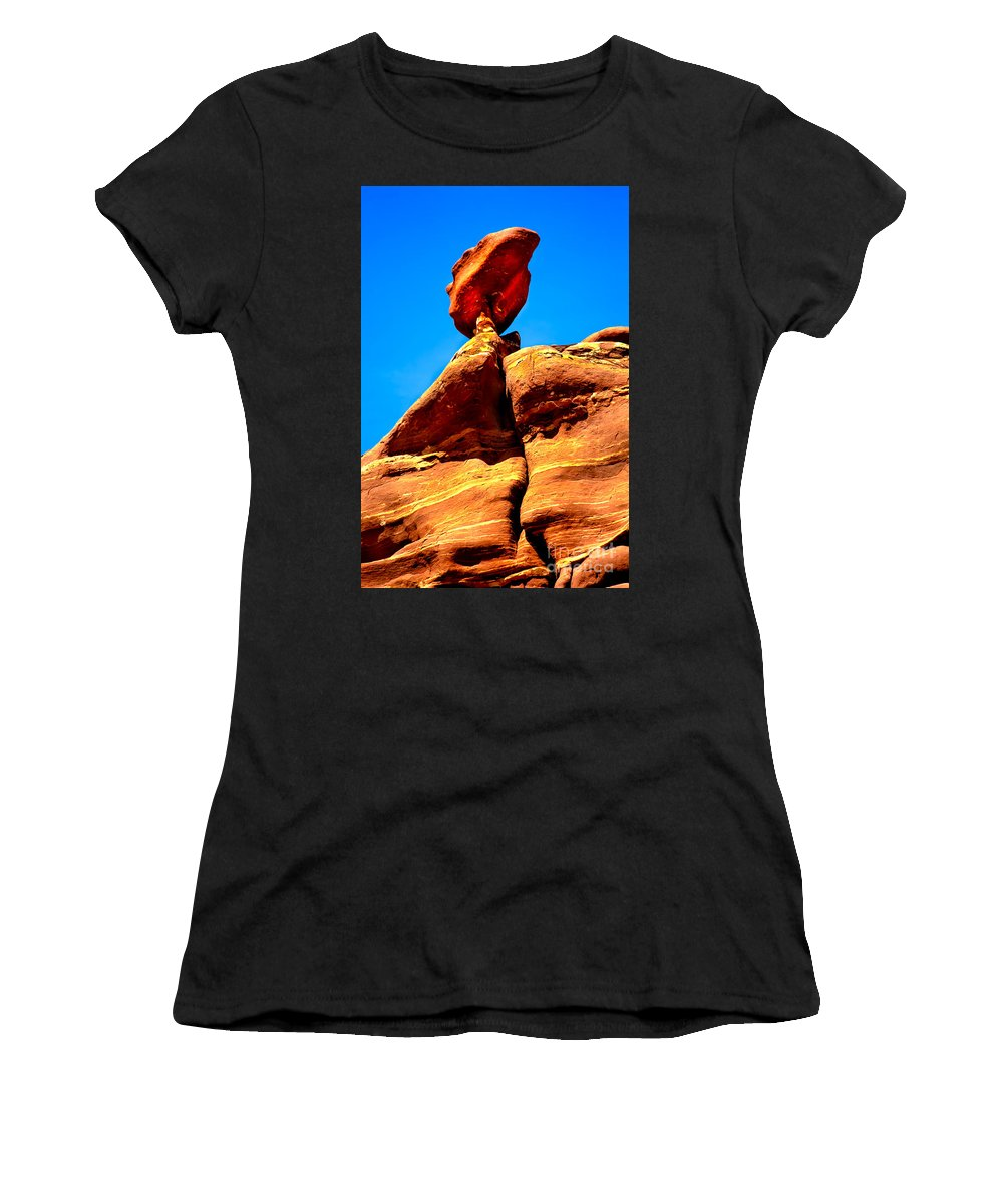 Panoramic Women's T-Shirt featuring the photograph The Head by Robert Bales