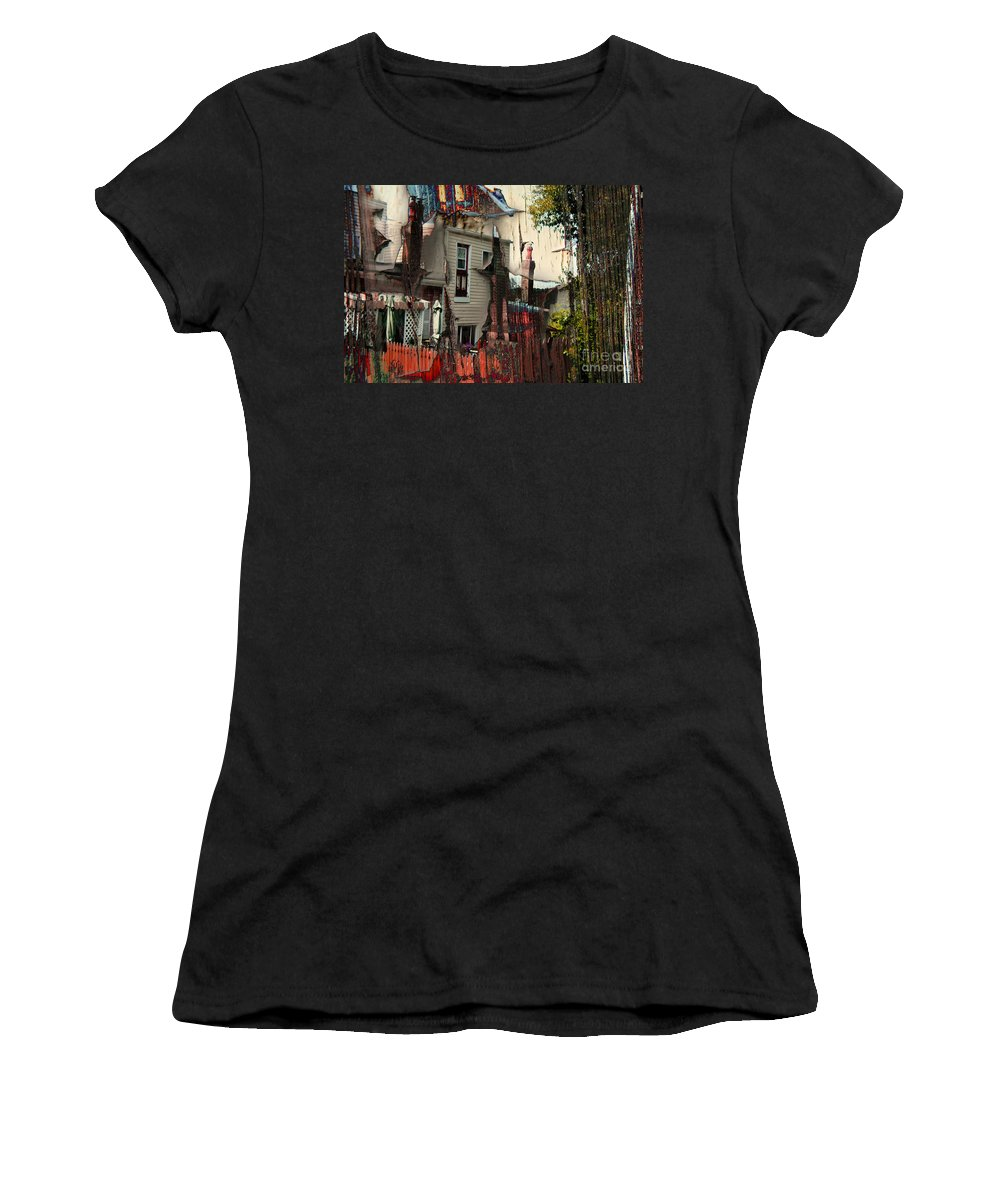 House Women's T-Shirt featuring the photograph The House That Jack Built by Jay Ressler