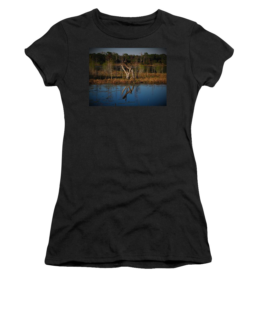 Color Women's T-Shirt (Athletic Fit) featuring the photograph The Lovers by Phil Penne