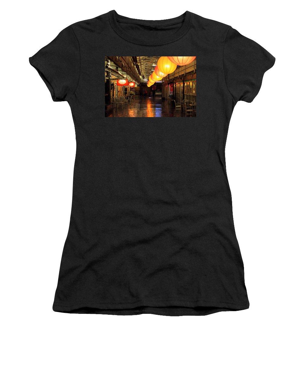 Market Women's T-Shirt featuring the photograph The Market by Robert McCulloch