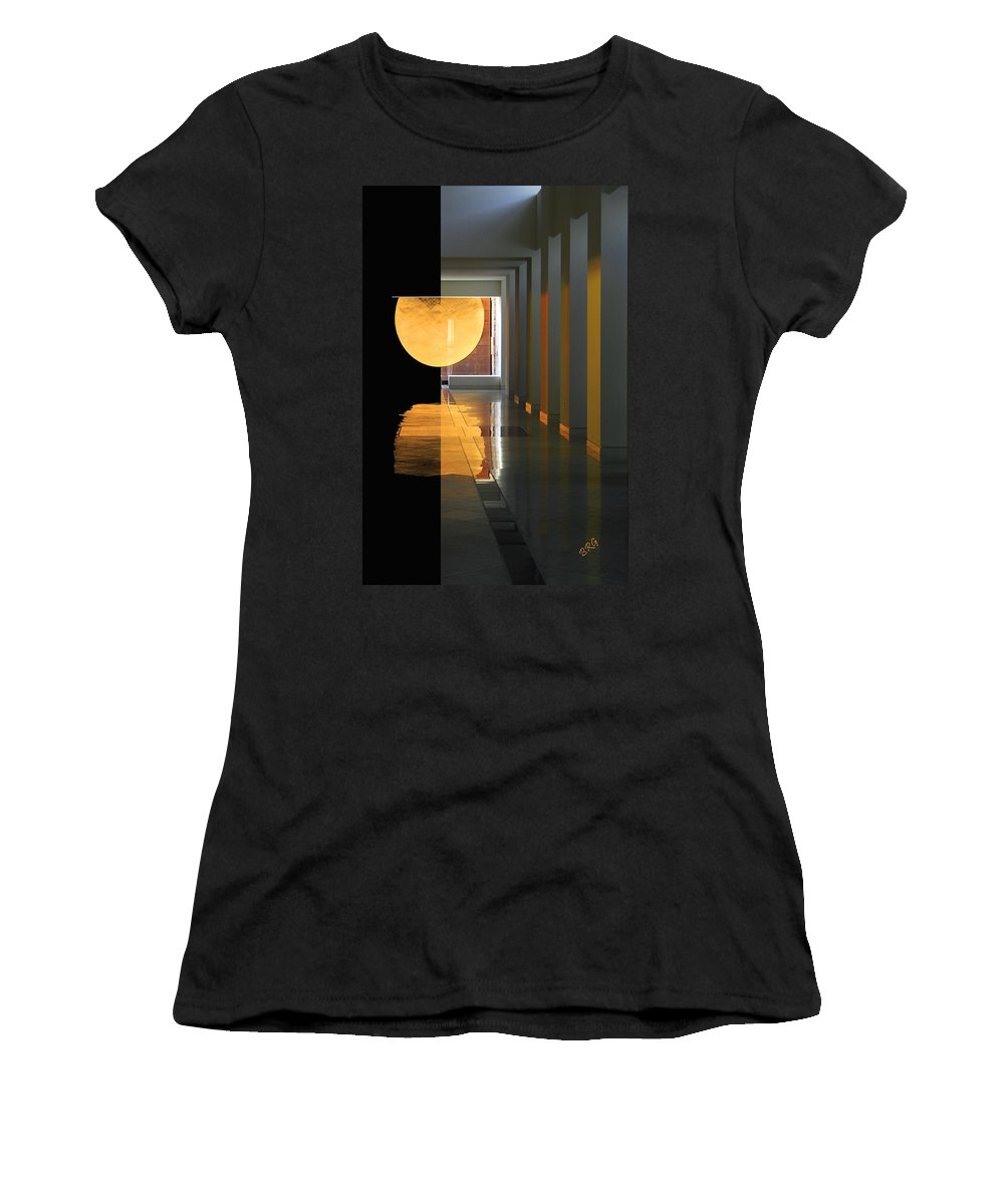 Wallace All Faiths Chapel Women's T-Shirt (Athletic Fit) featuring the photograph The Other Side by Ben and Raisa Gertsberg