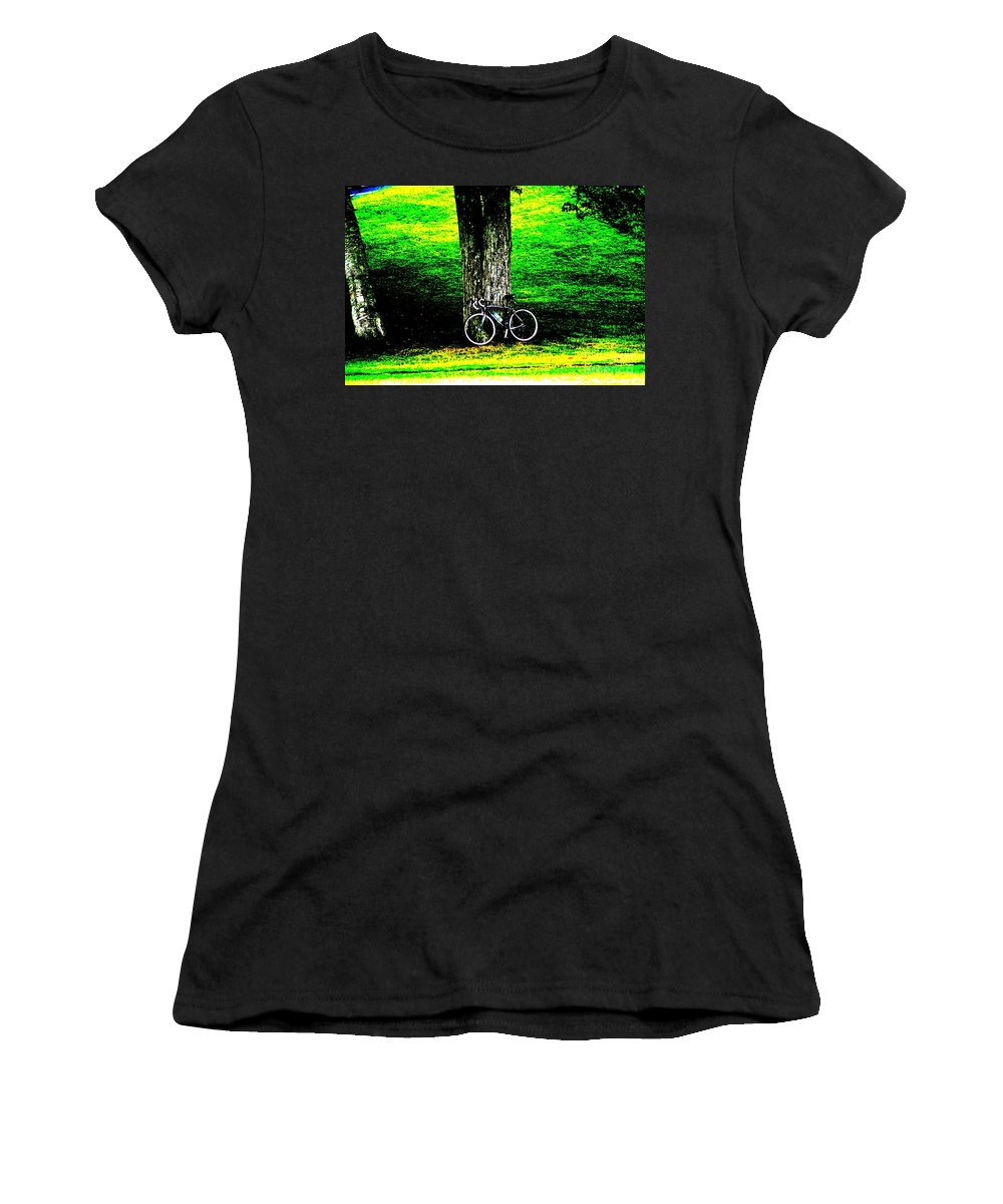 Parks Women's T-Shirt (Athletic Fit) featuring the photograph The Park by Jeffery L Bowers