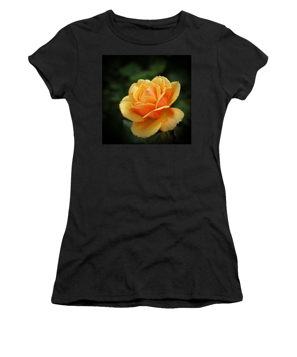 Beautiful Women's T-Shirt featuring the photograph The Rose 1 by Ernie Echols
