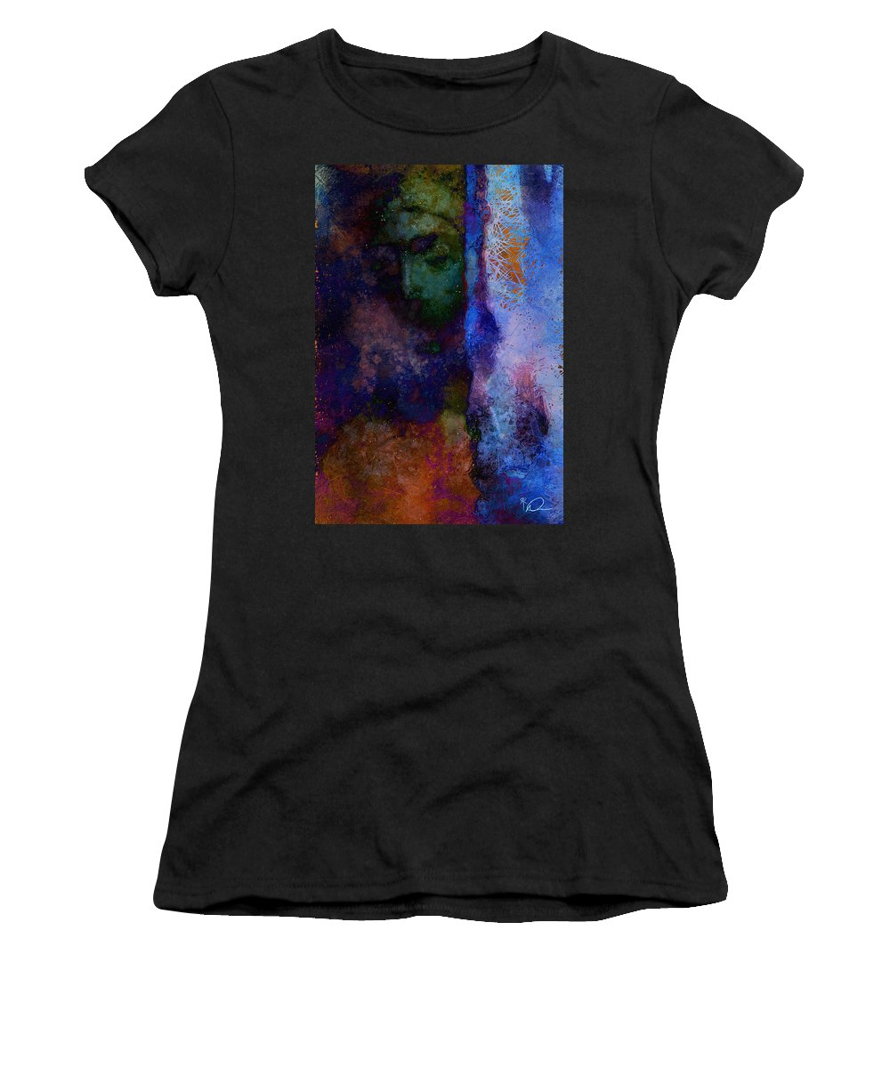 Soothsayer Women's T-Shirt (Athletic Fit) featuring the digital art The Soothsayer by David Derr