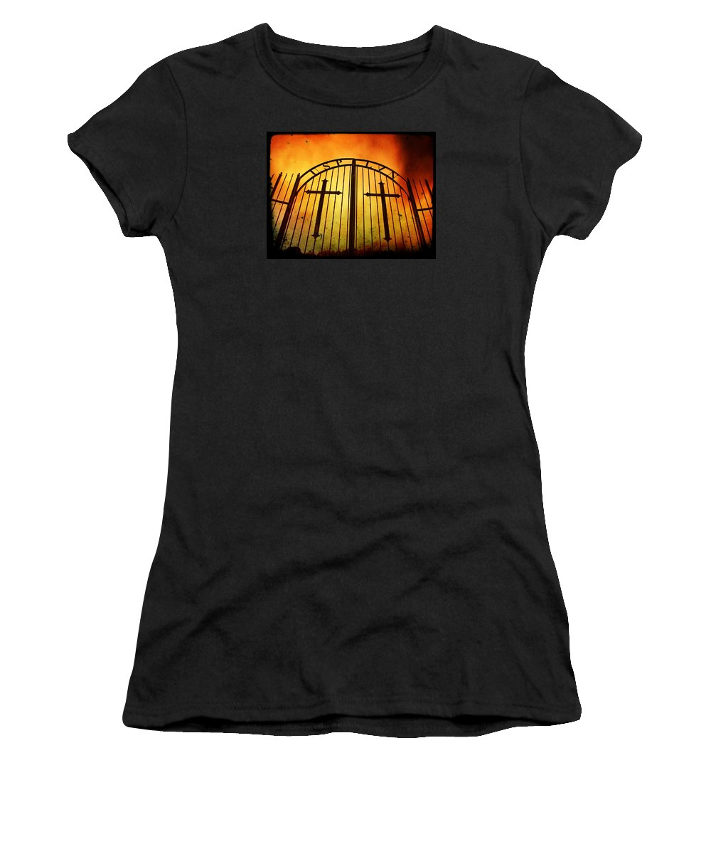 Graves Women's T-Shirt featuring the photograph The Unforgiven by Chris Berry