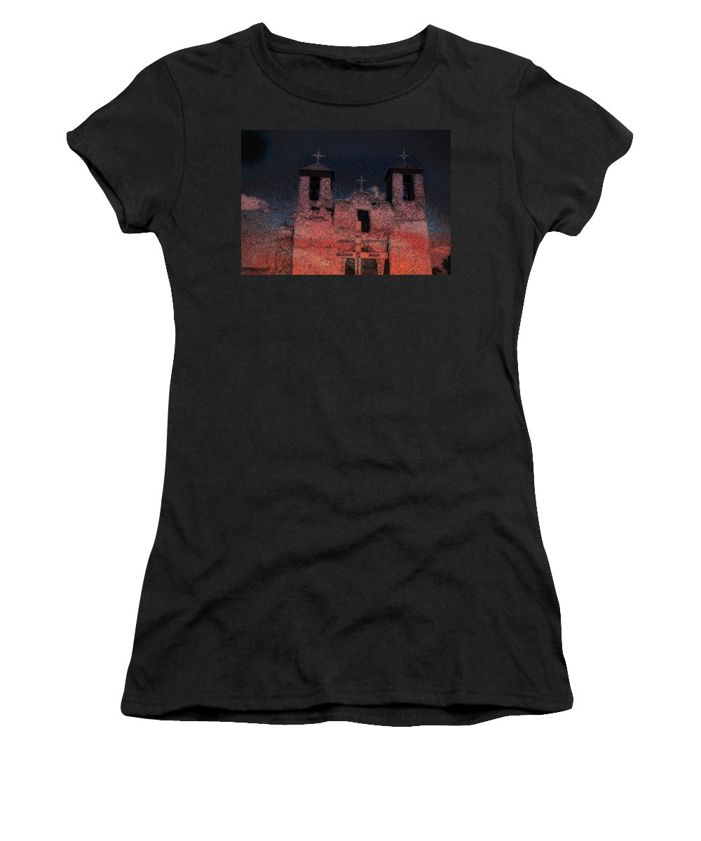 Mission Women's T-Shirt featuring the digital art This by Cathy Anderson