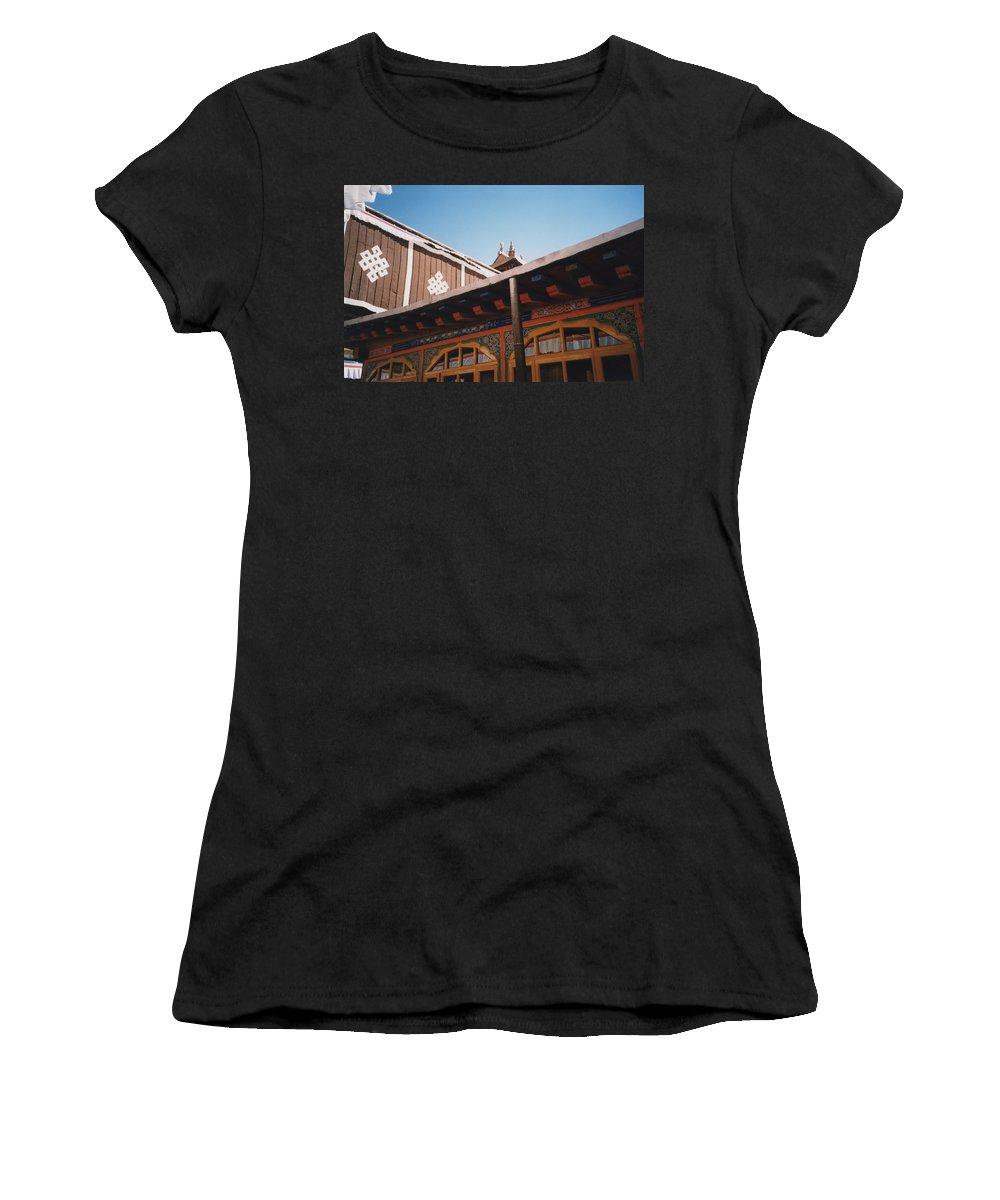 Tibet Women's T-Shirt featuring the photograph Tibet Potala Palace 8 by First Star Art