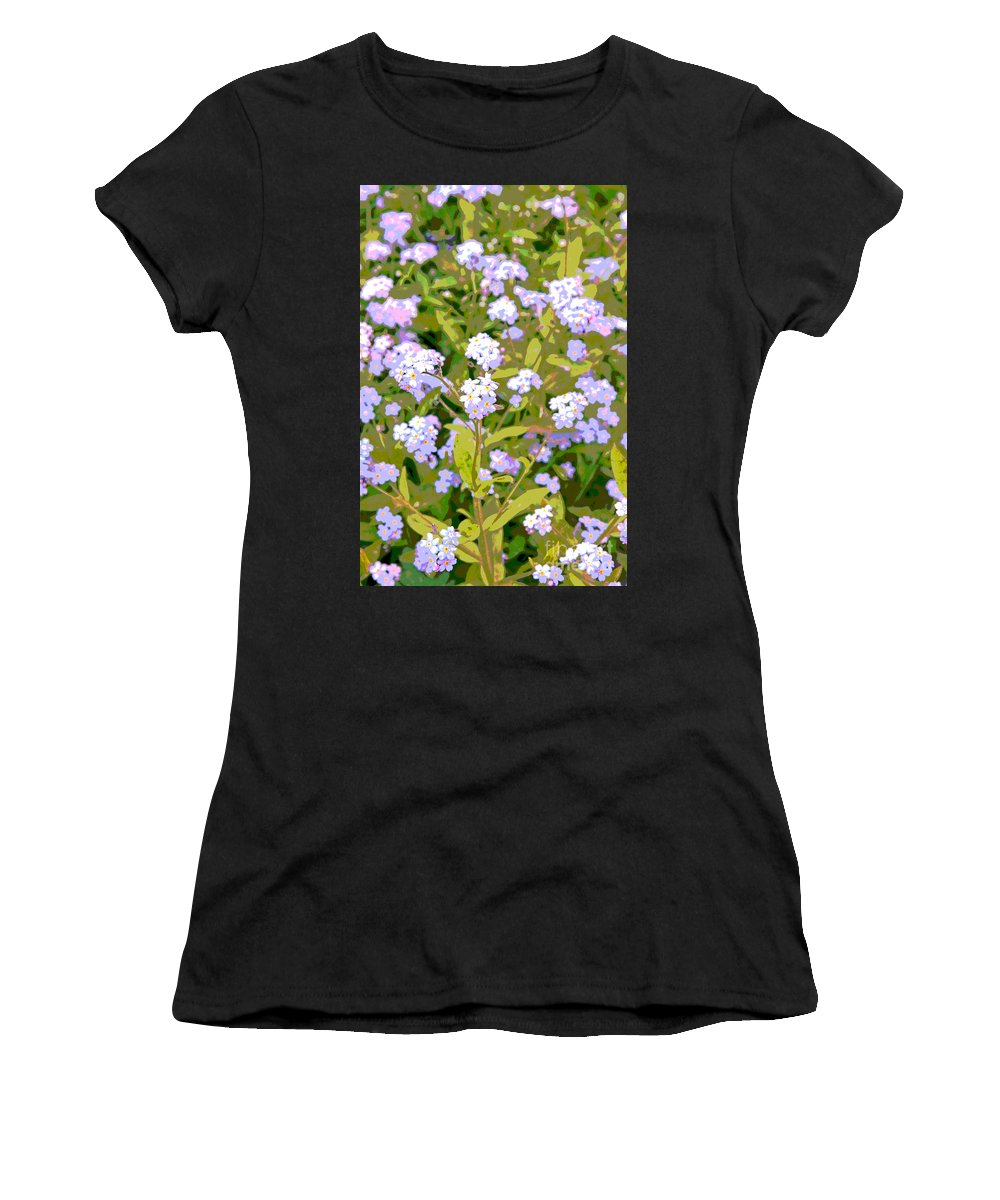 Tinkerbell Women's T-Shirt (Athletic Fit) featuring the photograph Tinkerbell by Lali Kacharava