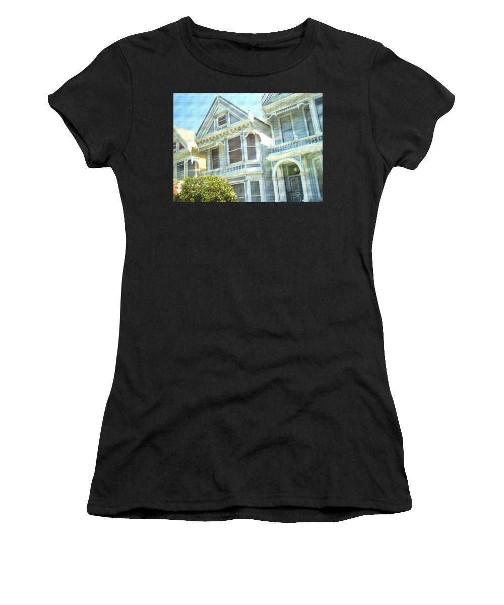 Victorians Women's T-Shirt featuring the photograph Victorian Cloth by Pharris Art