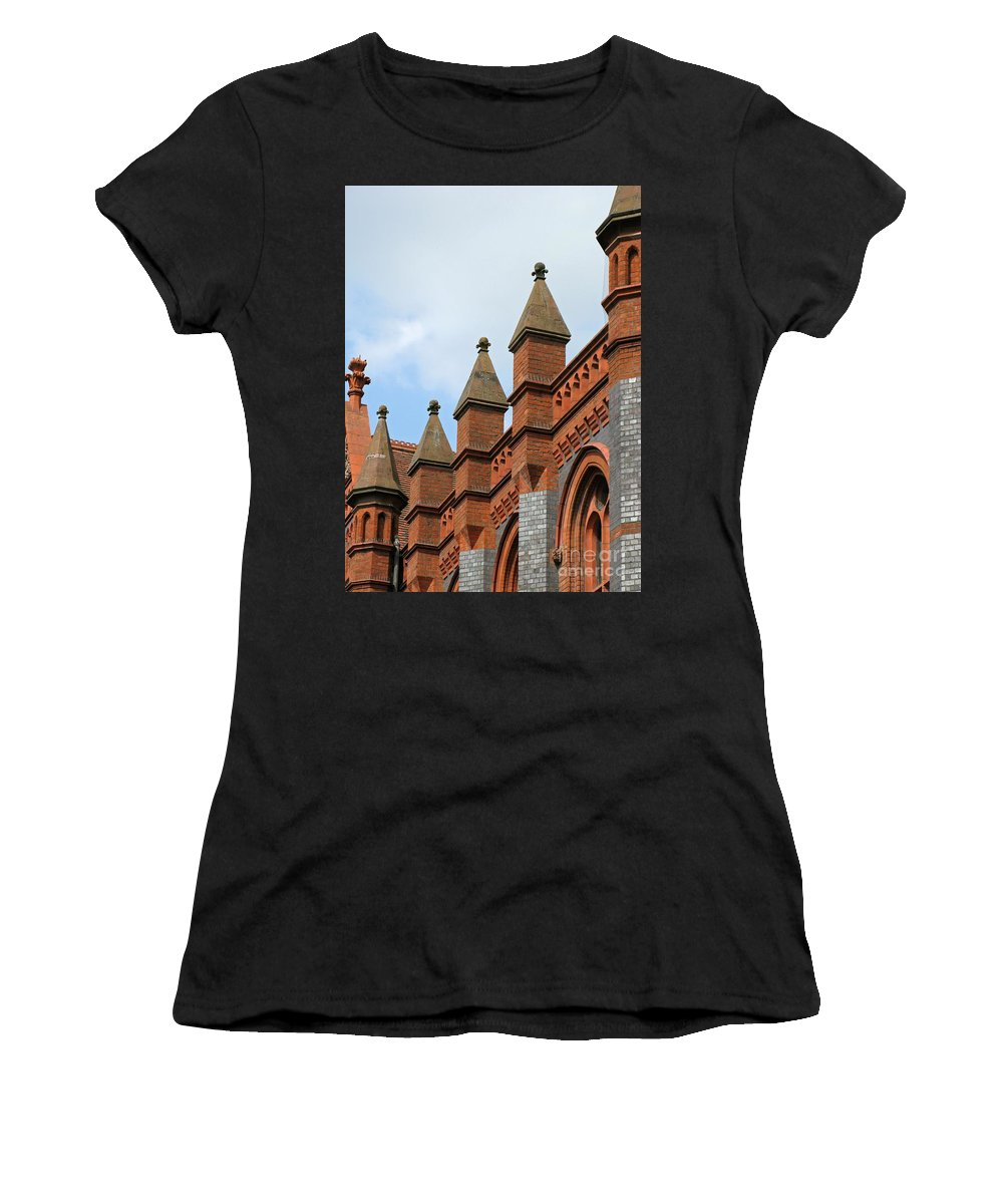 Victorian Women's T-Shirt featuring the photograph Victorian Orange by Ann Horn