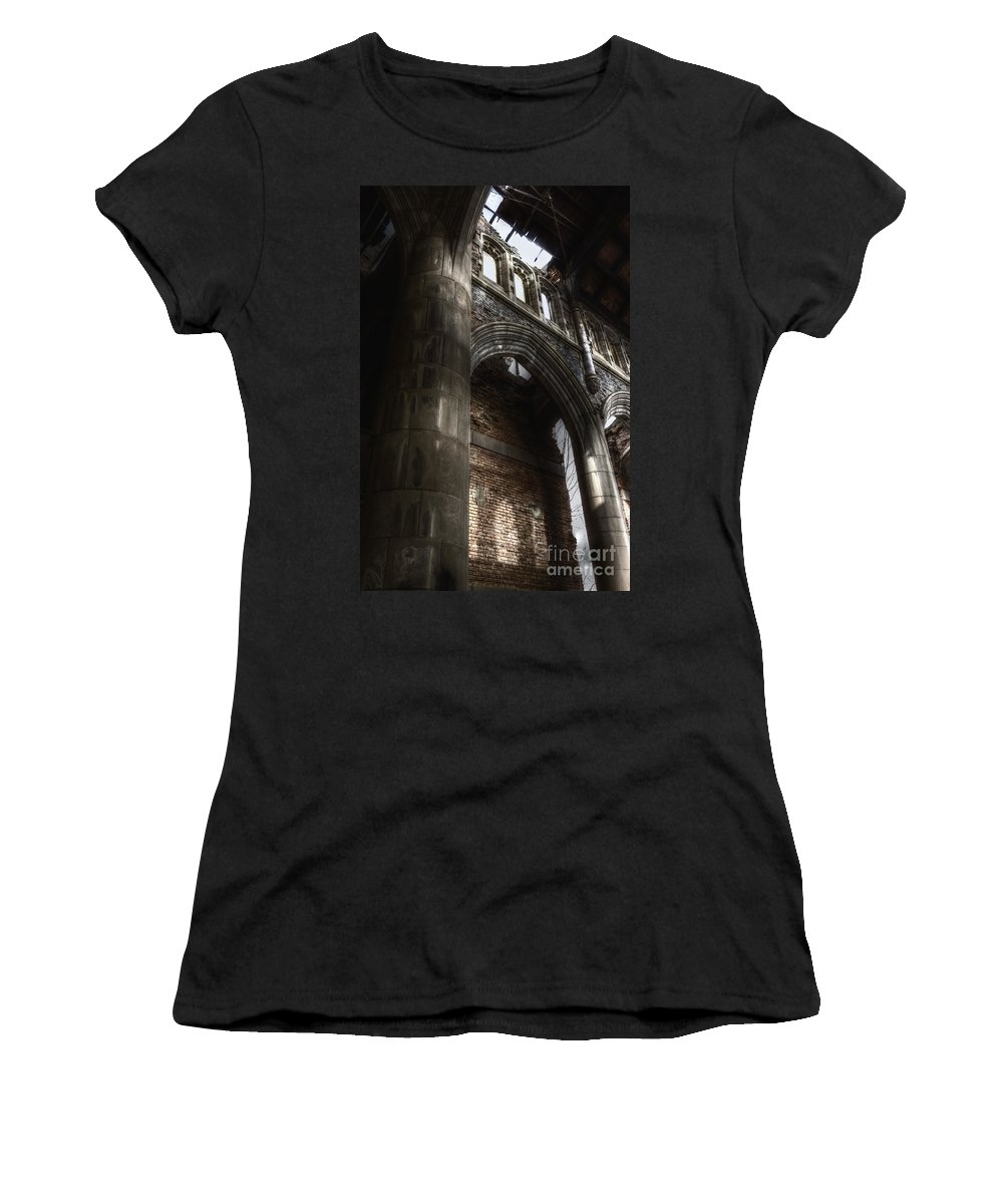 Church Women's T-Shirt featuring the photograph War Of Religion by Margie Hurwich