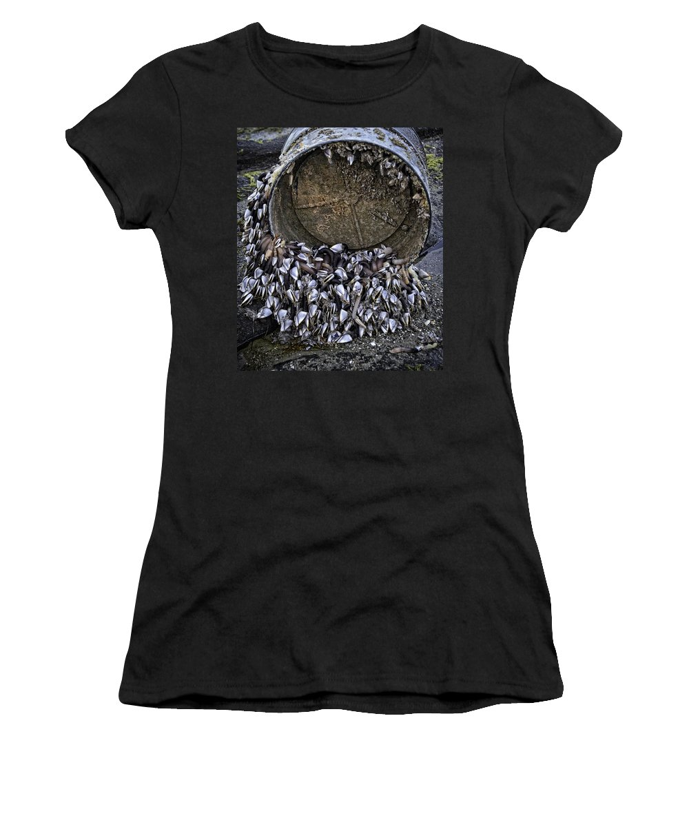Yachats Women's T-Shirt featuring the photograph Washed Ashore by Image Takers Photography LLC - Carol Haddon