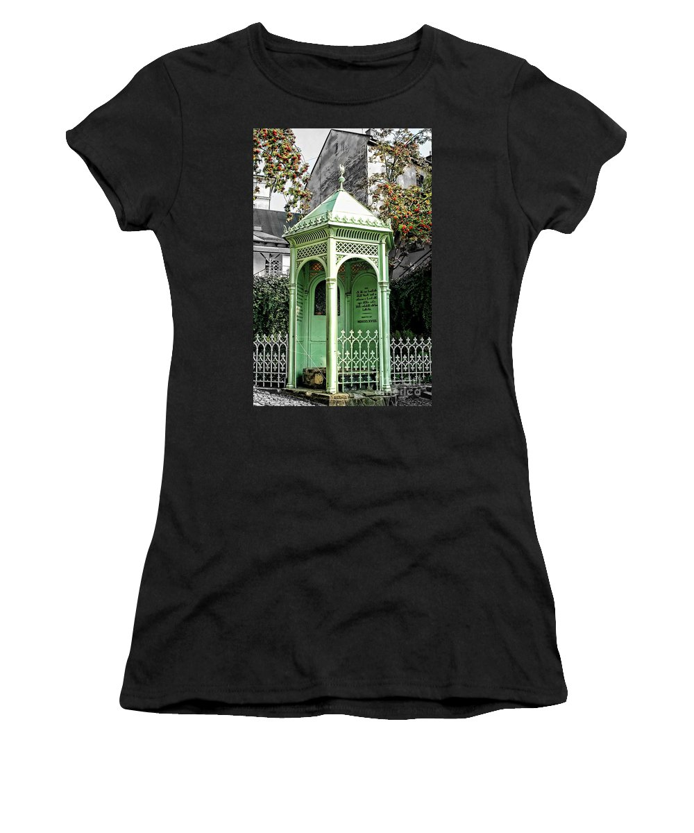 Well Women's T-Shirt (Athletic Fit) featuring the photograph Well Of The Three Brothers by Mariola Bitner