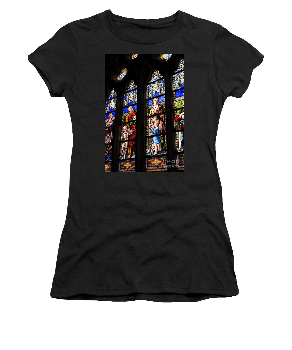 Ballantyne Women's T-Shirt featuring the photograph Welsh Glass by Adrian Evans