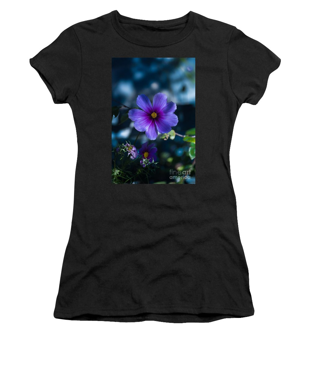 Flower Women's T-Shirt (Athletic Fit) featuring the photograph Who You Calling A Pansy? by Rich Priest