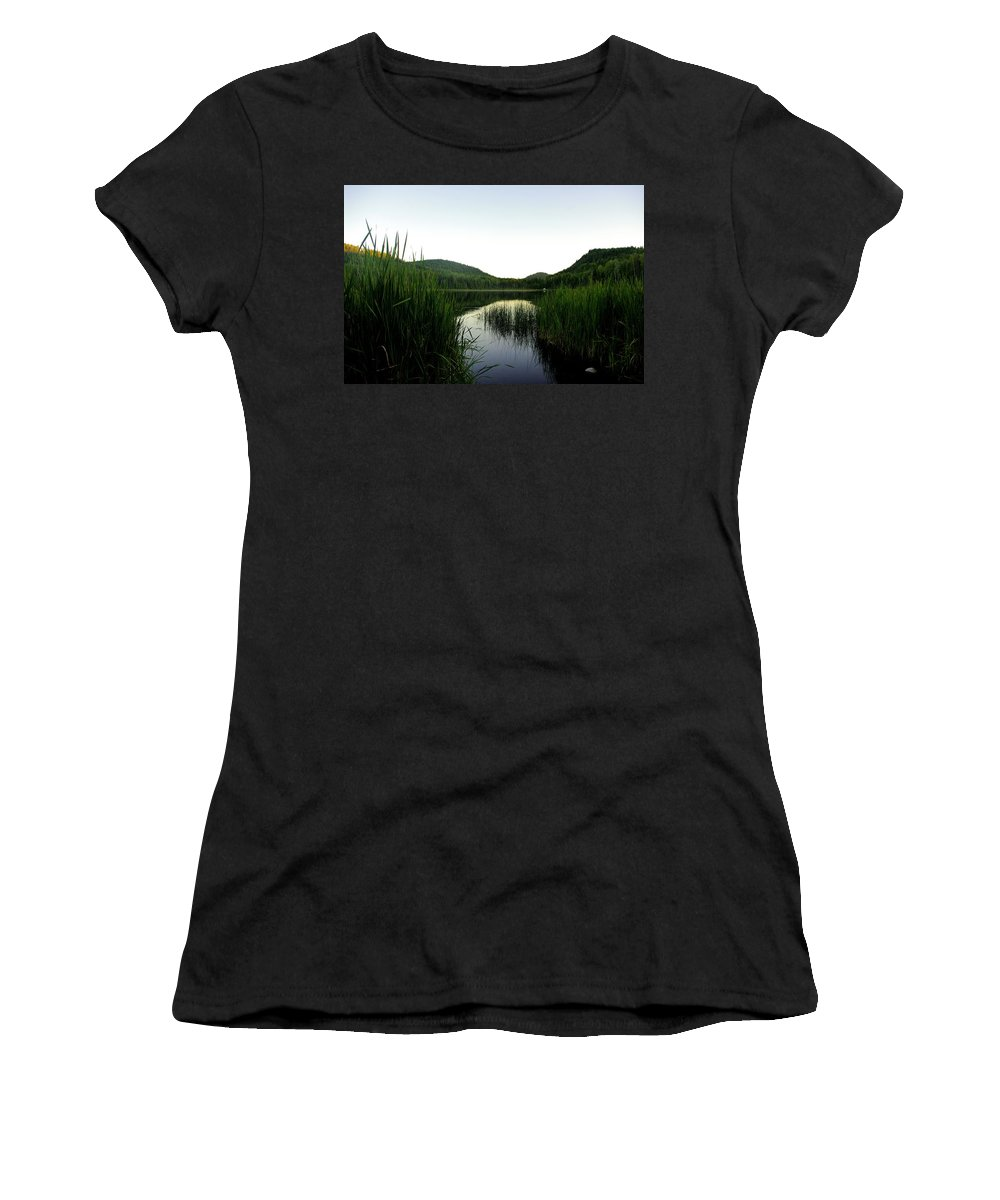 Wilgress Women's T-Shirt featuring the photograph Wilgress Evening by John Greaves