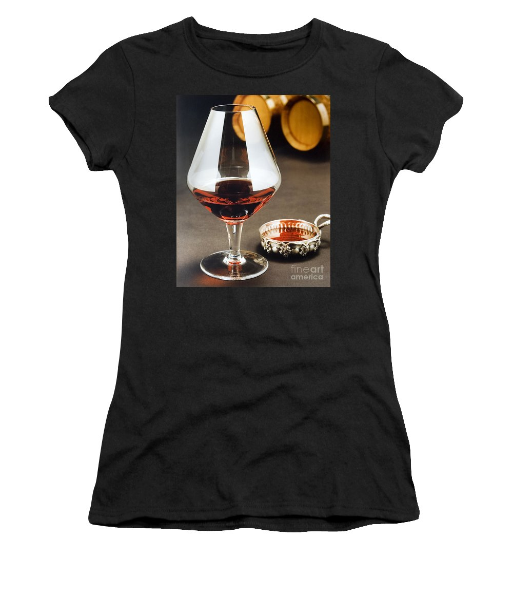 Wine Women's T-Shirt (Athletic Fit) featuring the photograph Wine Tasting by Jerry McElroy