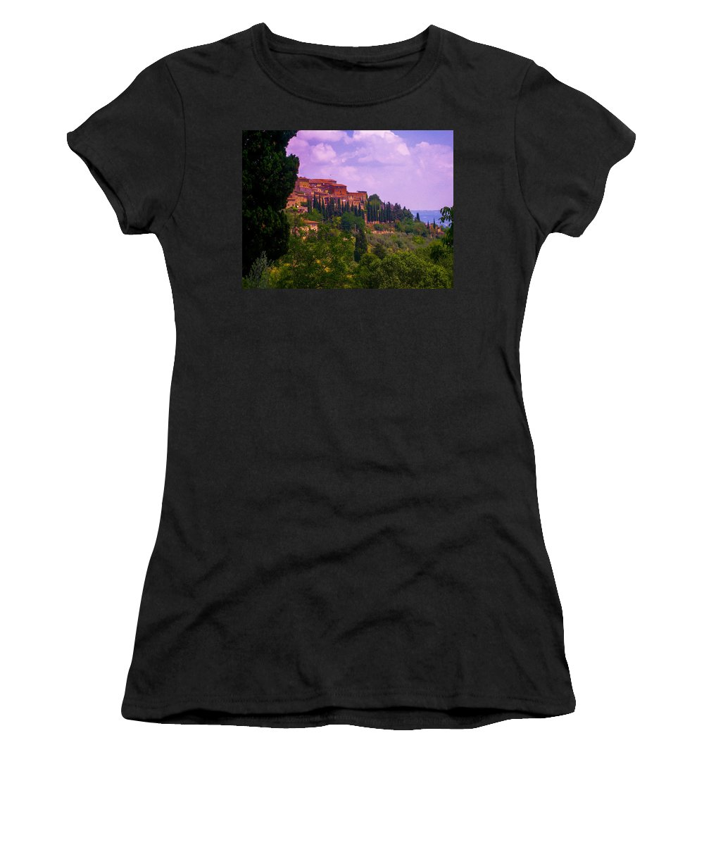 Tuscany Women's T-Shirt featuring the photograph Wonderful Tuscany by Dany Lison