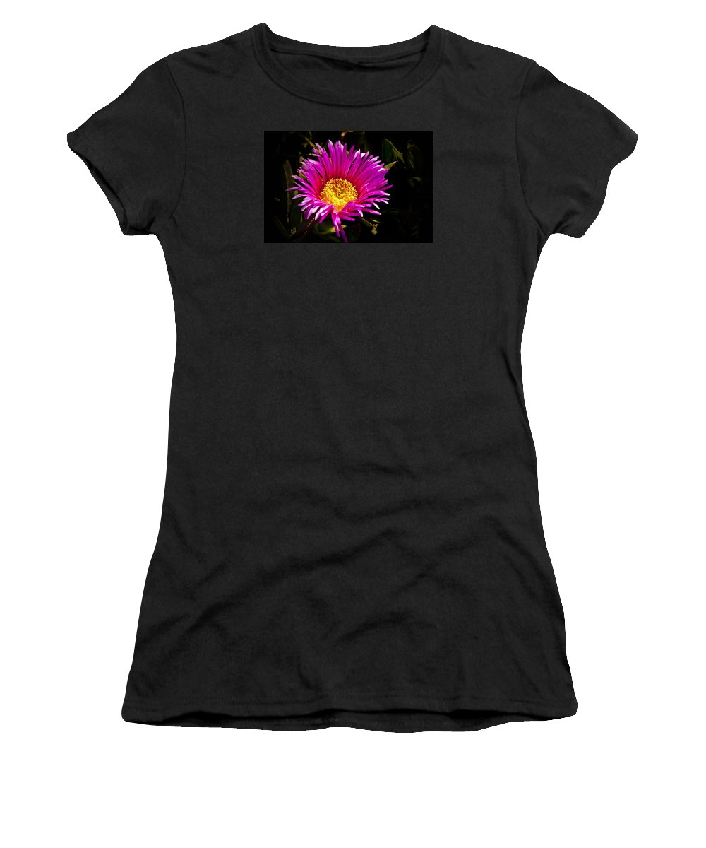 Flower Women's T-Shirt (Athletic Fit) featuring the photograph You Are So Beautiful by Music of the Heart