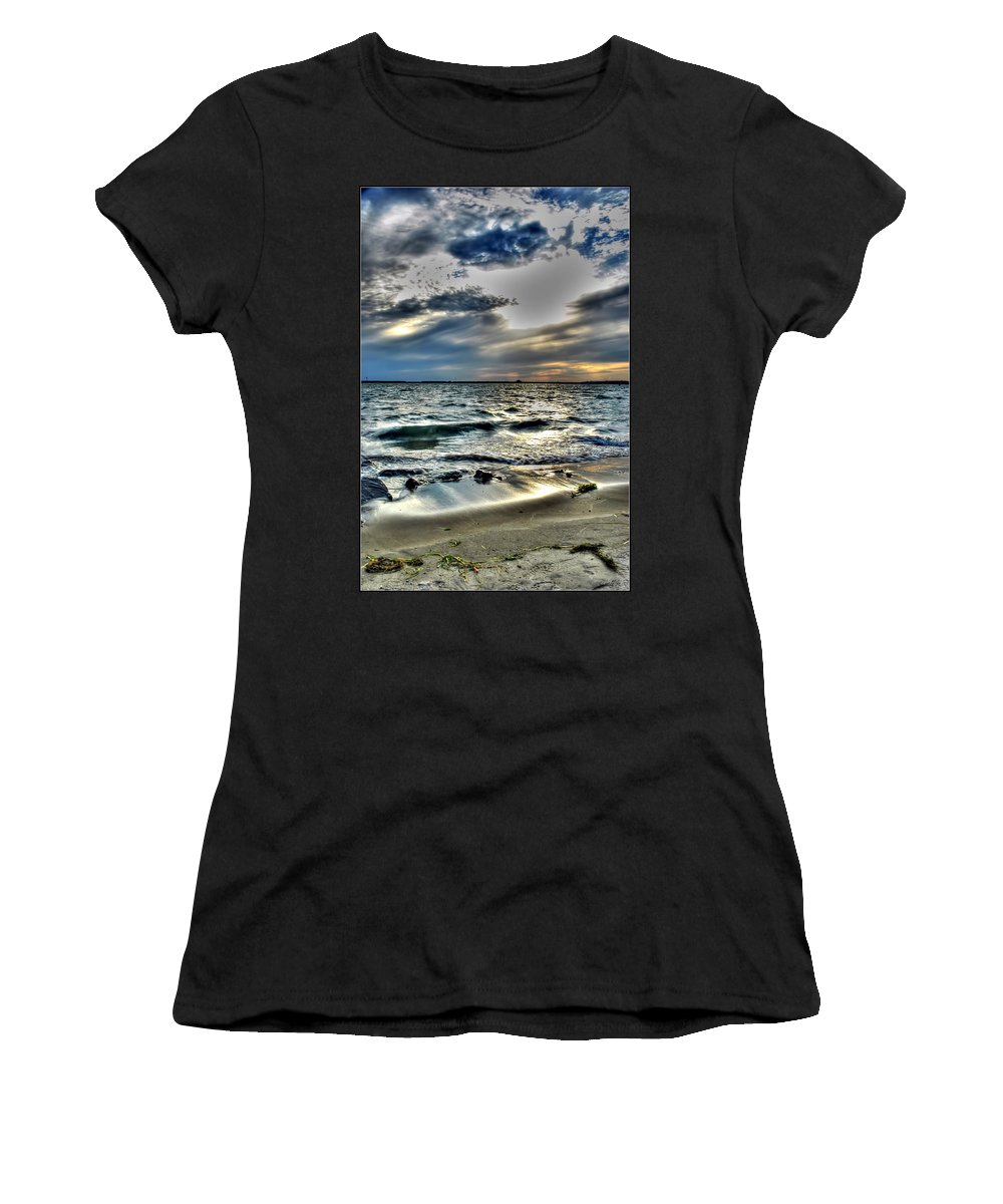 Women's T-Shirt (Athletic Fit) featuring the photograph 002 In Harmony With Nature Series by Michael Frank Jr