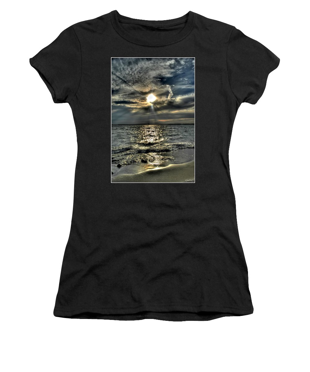 Women's T-Shirt (Athletic Fit) featuring the photograph 007 In Harmony With Nature Series by Michael Frank Jr