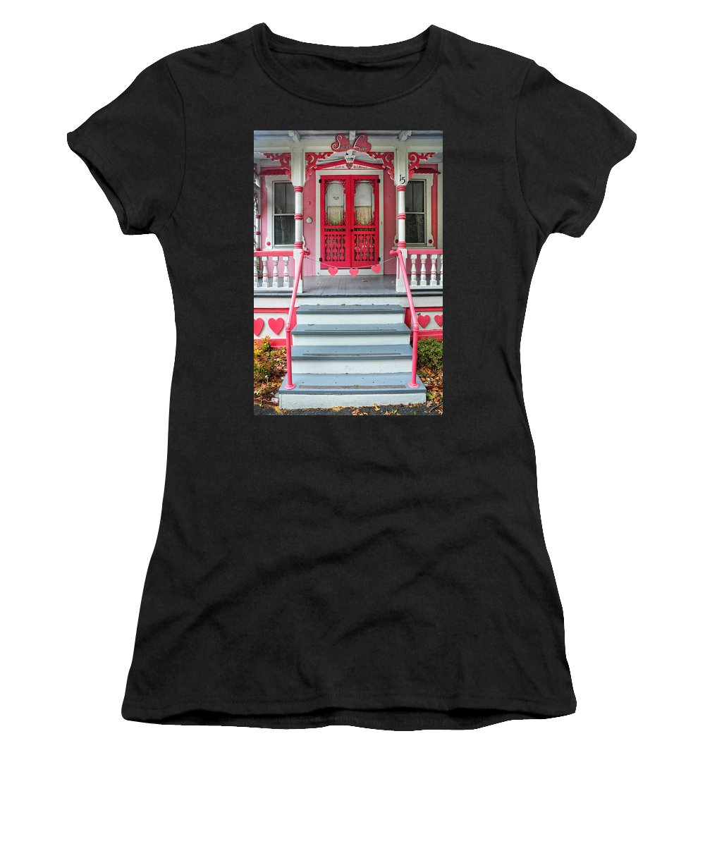 Hearts Women's T-Shirt featuring the photograph Have A Heart by Dave Mills