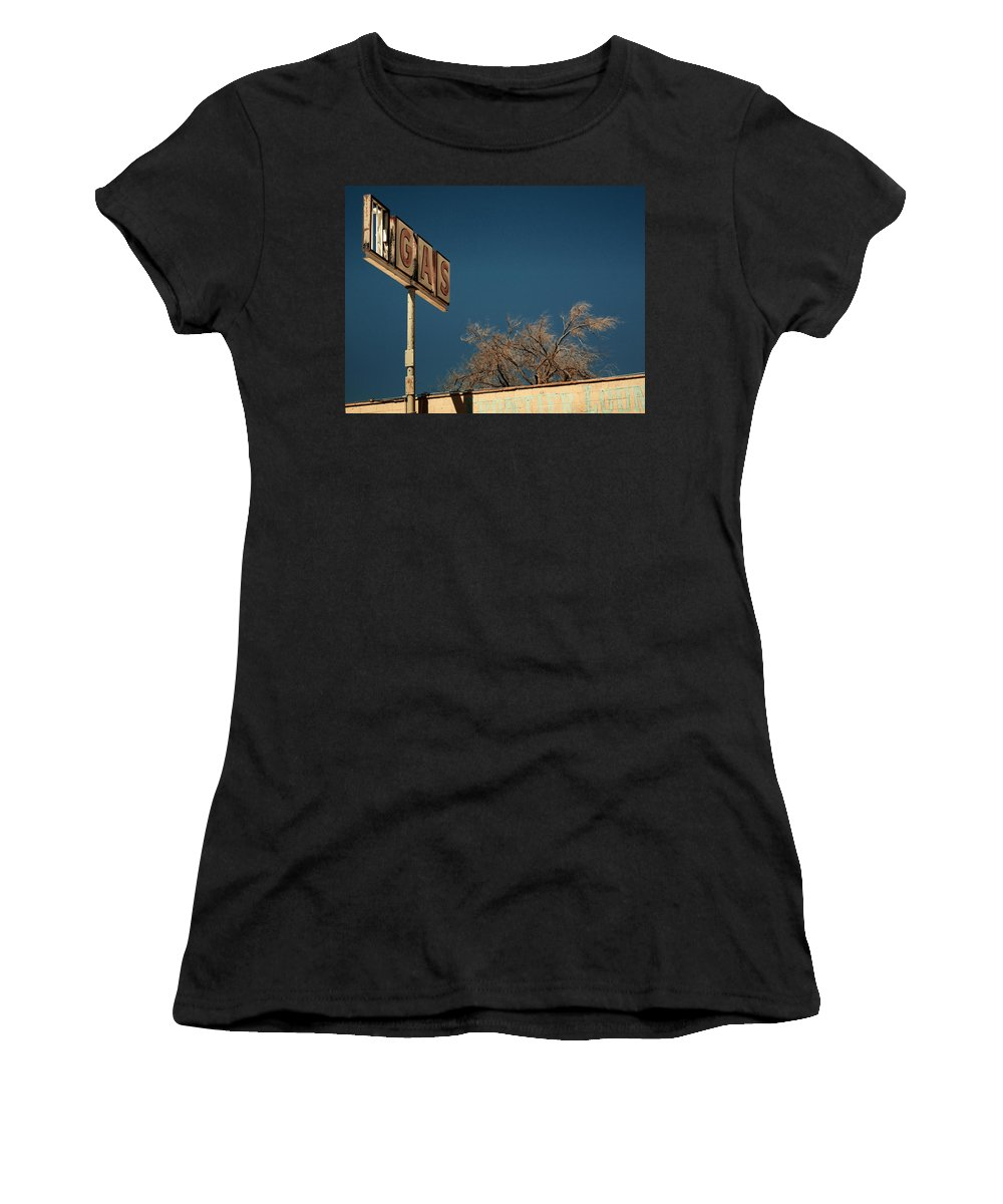 Aurica Voss Women's T-Shirt featuring the photograph Route 66 by Aurica Voss