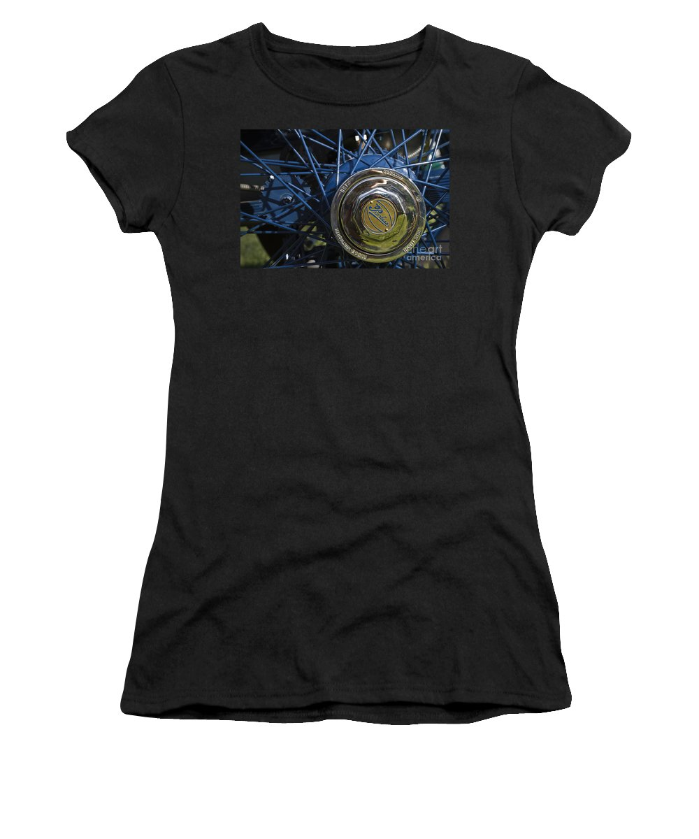 1913 Peerless Model 48-6 Roadster Women's T-Shirt (Athletic Fit) featuring the photograph 1913 Peerless by Dennis Hedberg
