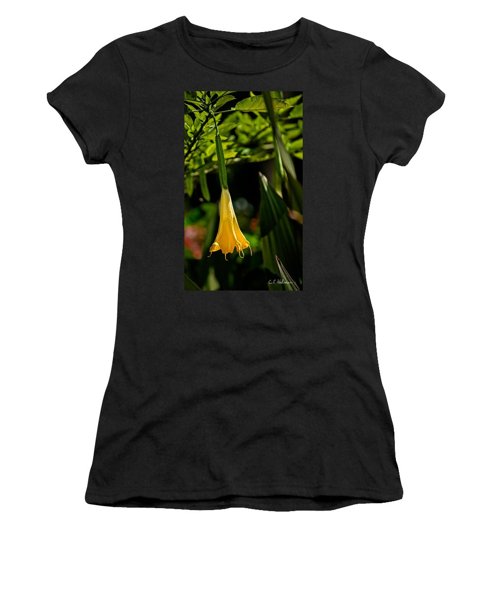 Christopher Holmes Photography Women's T-Shirt (Athletic Fit) featuring the photograph 20120915-dsc09868 by Christopher Holmes