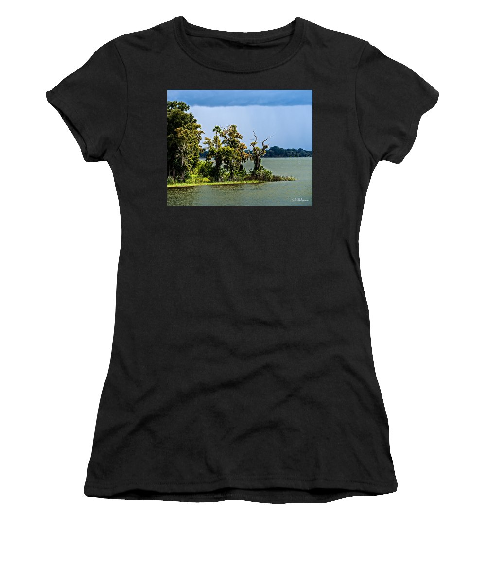 Christopher Holmes Photography Women's T-Shirt (Athletic Fit) featuring the photograph 20120915-dsc09923 by Christopher Holmes