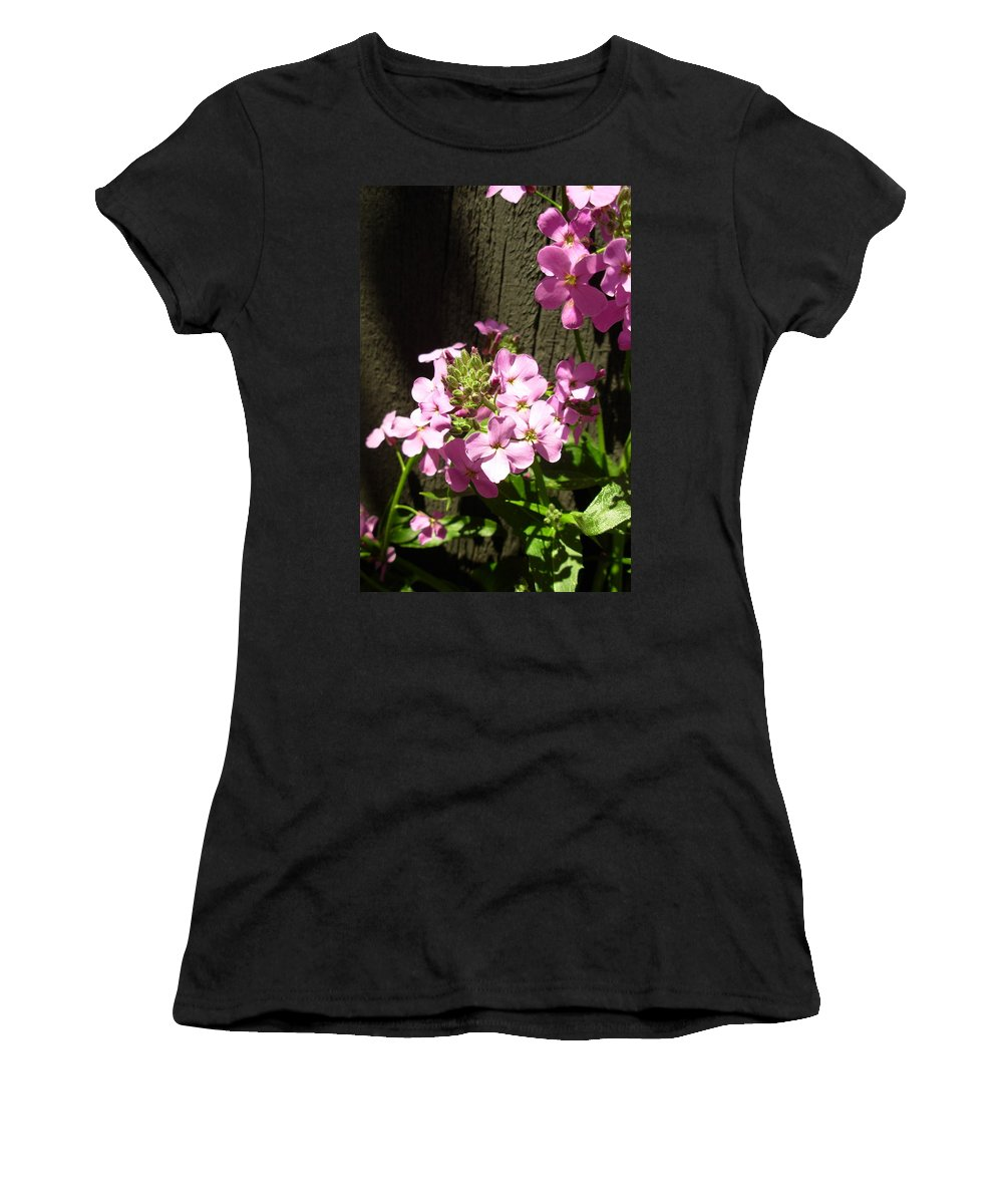 Gerbera Photographs Women's T-Shirt (Athletic Fit) featuring the photograph 5361-001 by Kimberlie Gerner