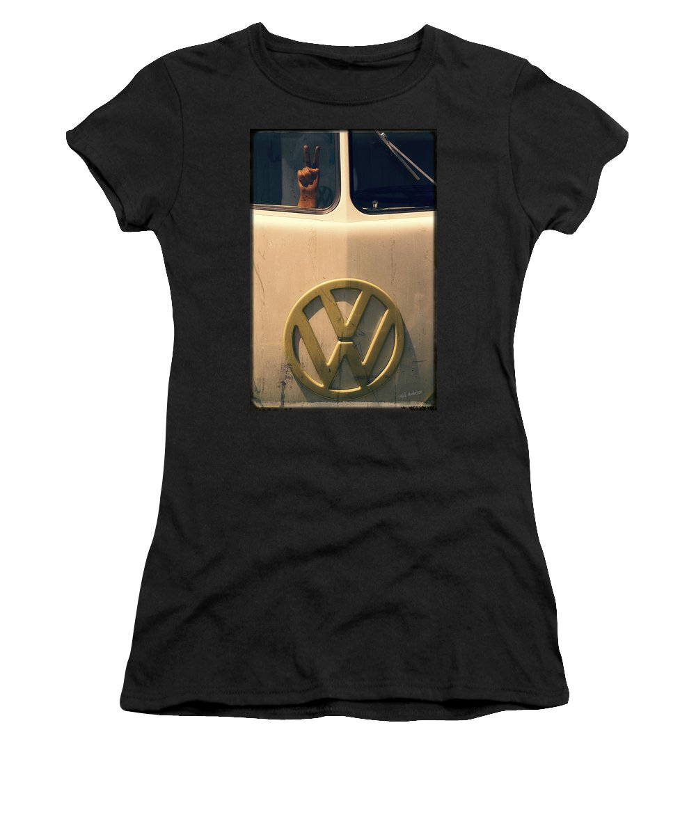 60s Women's T-Shirt featuring the photograph 60s Remembered by Mick Anderson