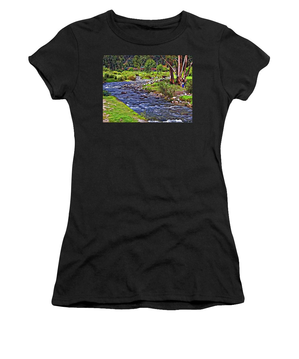Peru Women's T-Shirt featuring the photograph A Place Without Time by Steve Harrington