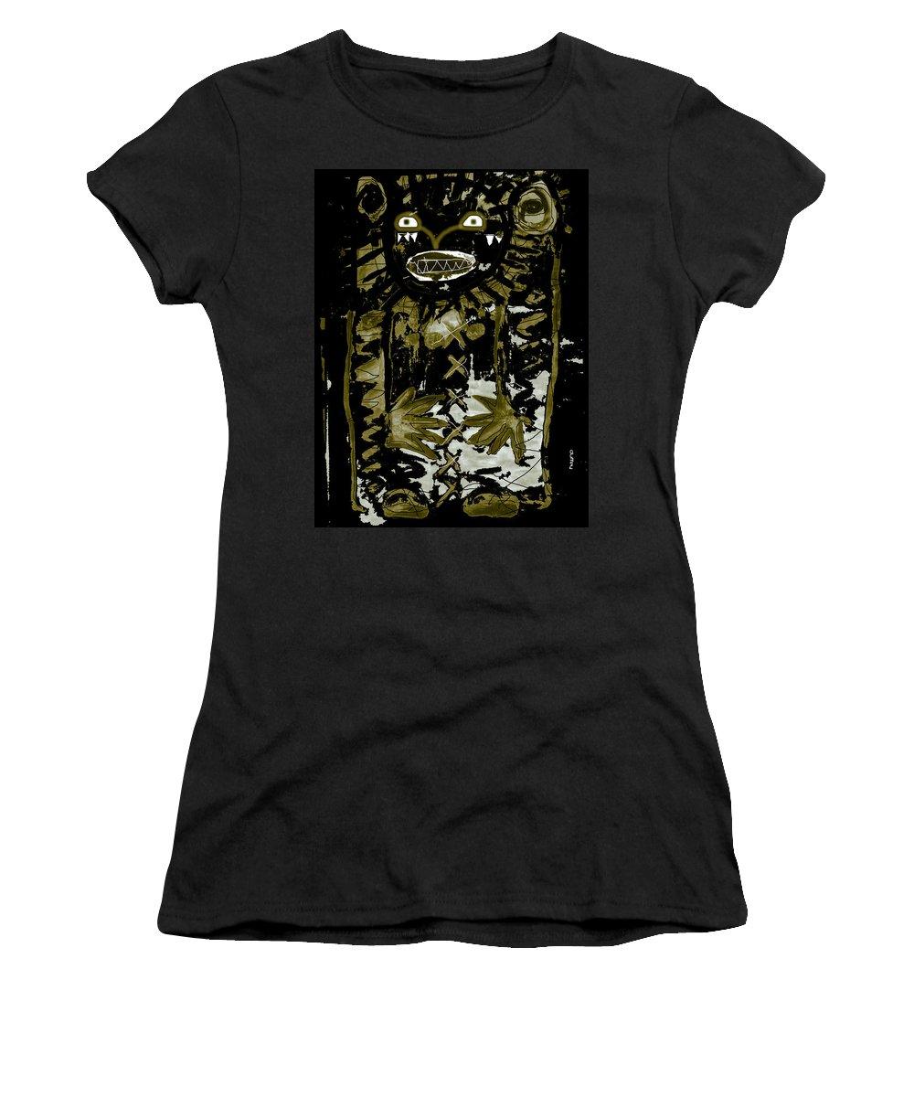 Ancient Civilizations Women's T-Shirt (Athletic Fit) featuring the photograph Ancestor 1d by Doug Duffey