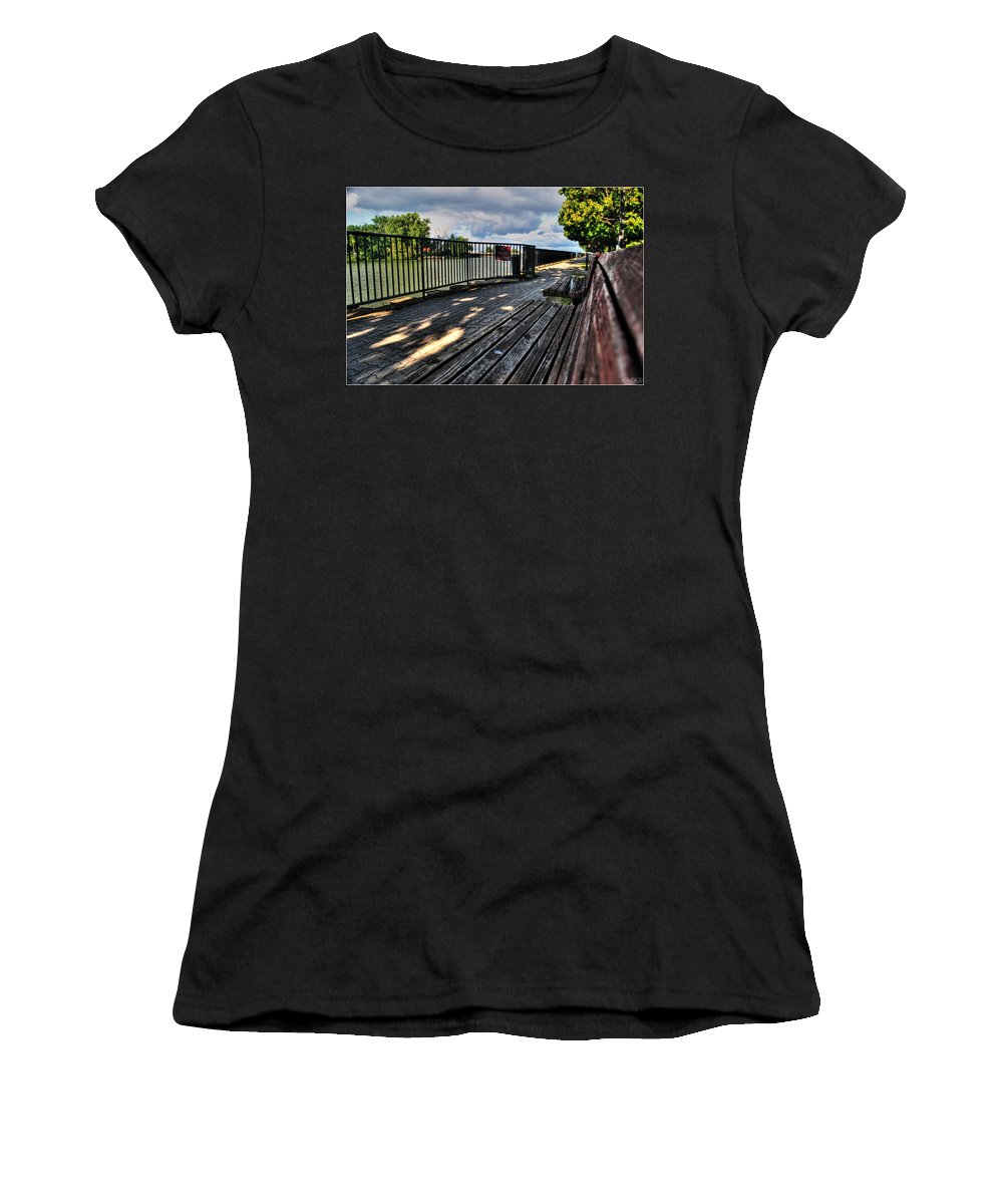 Women's T-Shirt featuring the photograph And Yet Still I Wait by Michael Frank Jr