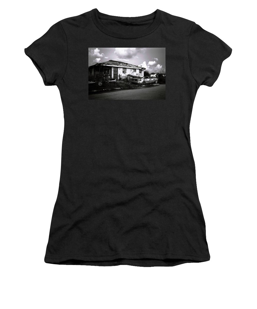 Louisiana Women's T-Shirt (Athletic Fit) featuring the photograph Baghdad by Doug Duffey
