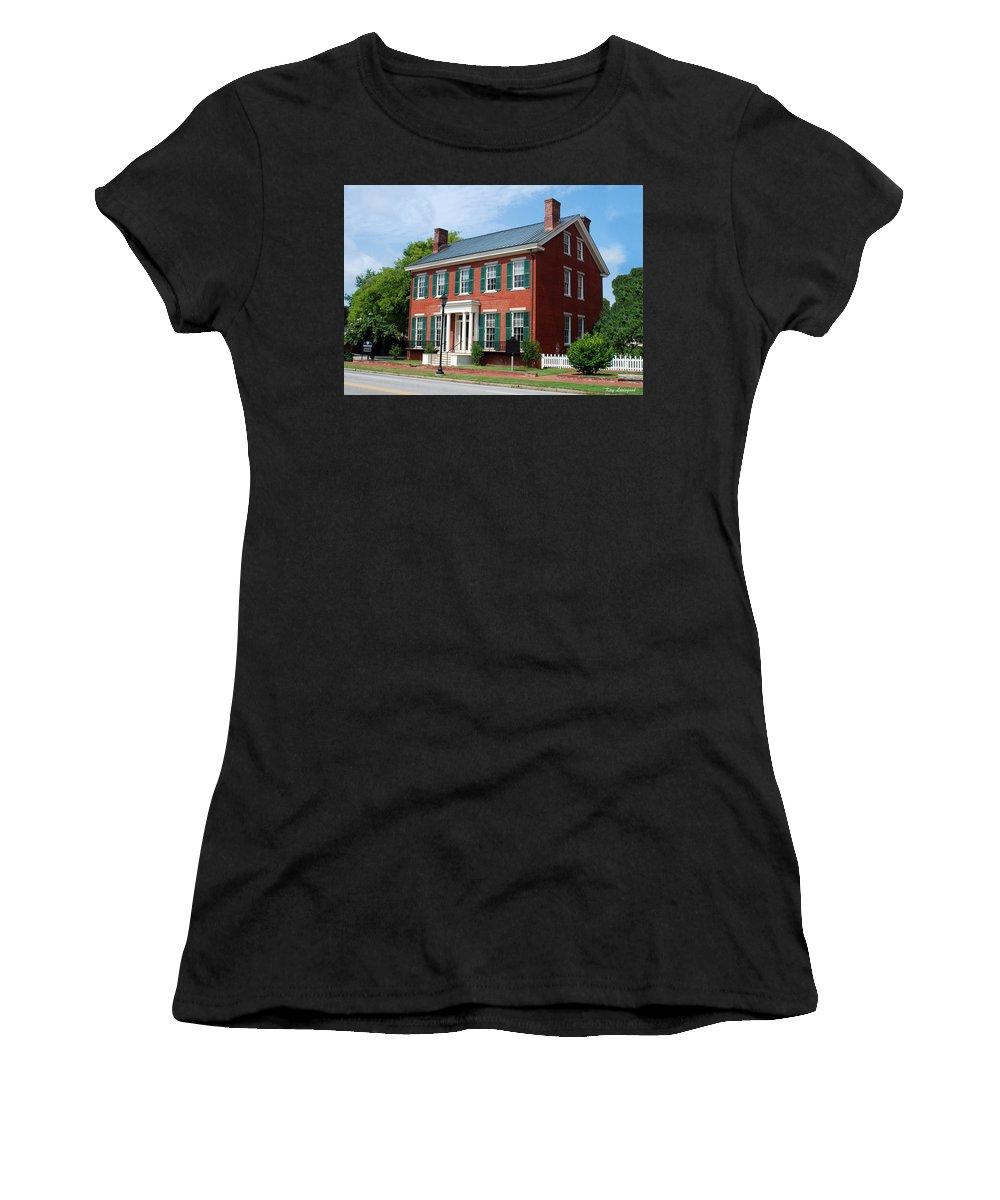 Building Women's T-Shirt featuring the photograph Boyhood Home by Kay Lovingood