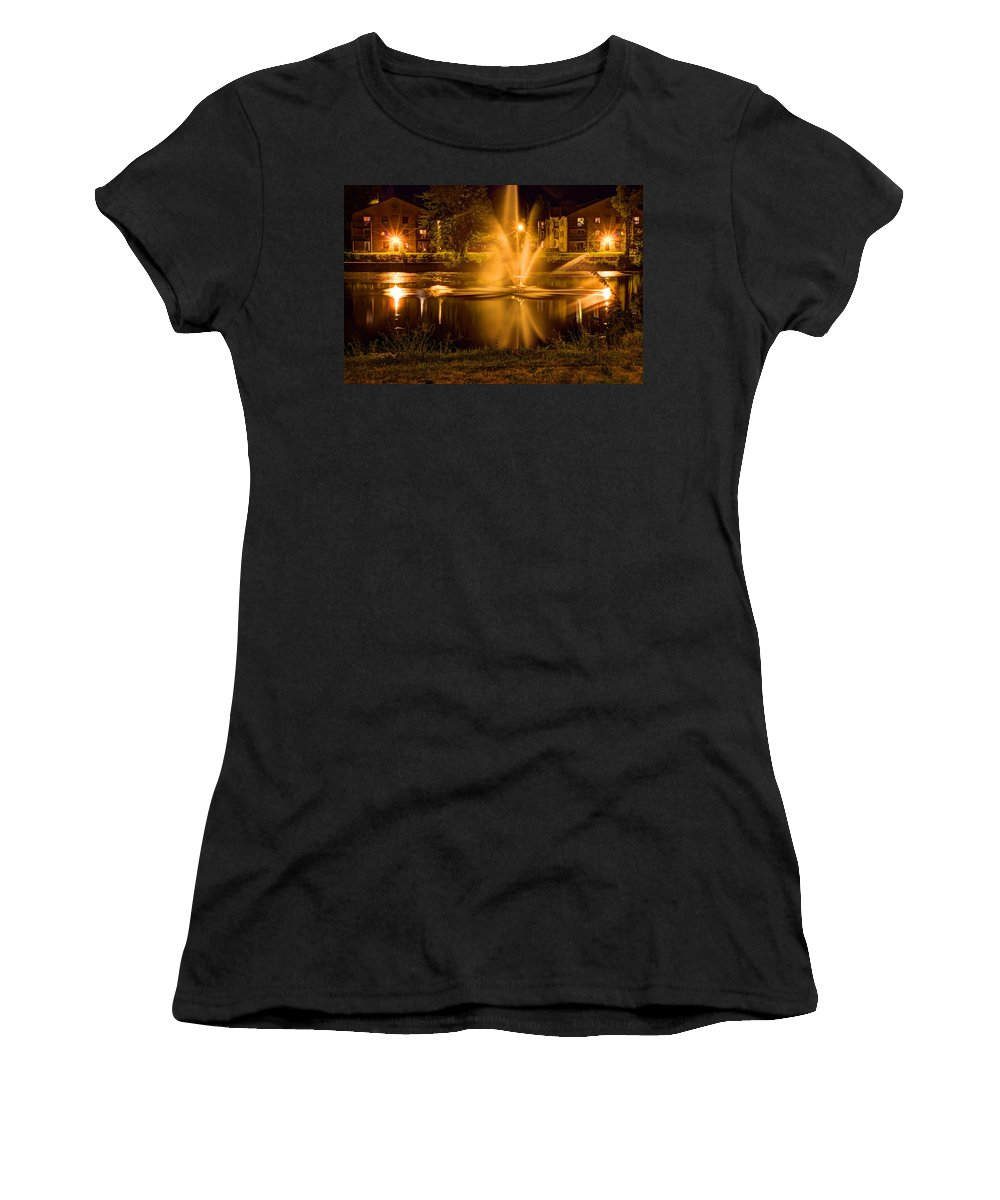 Acrylic Prints Women's T-Shirt featuring the photograph Casino Royale A La Napanee by John Herzog